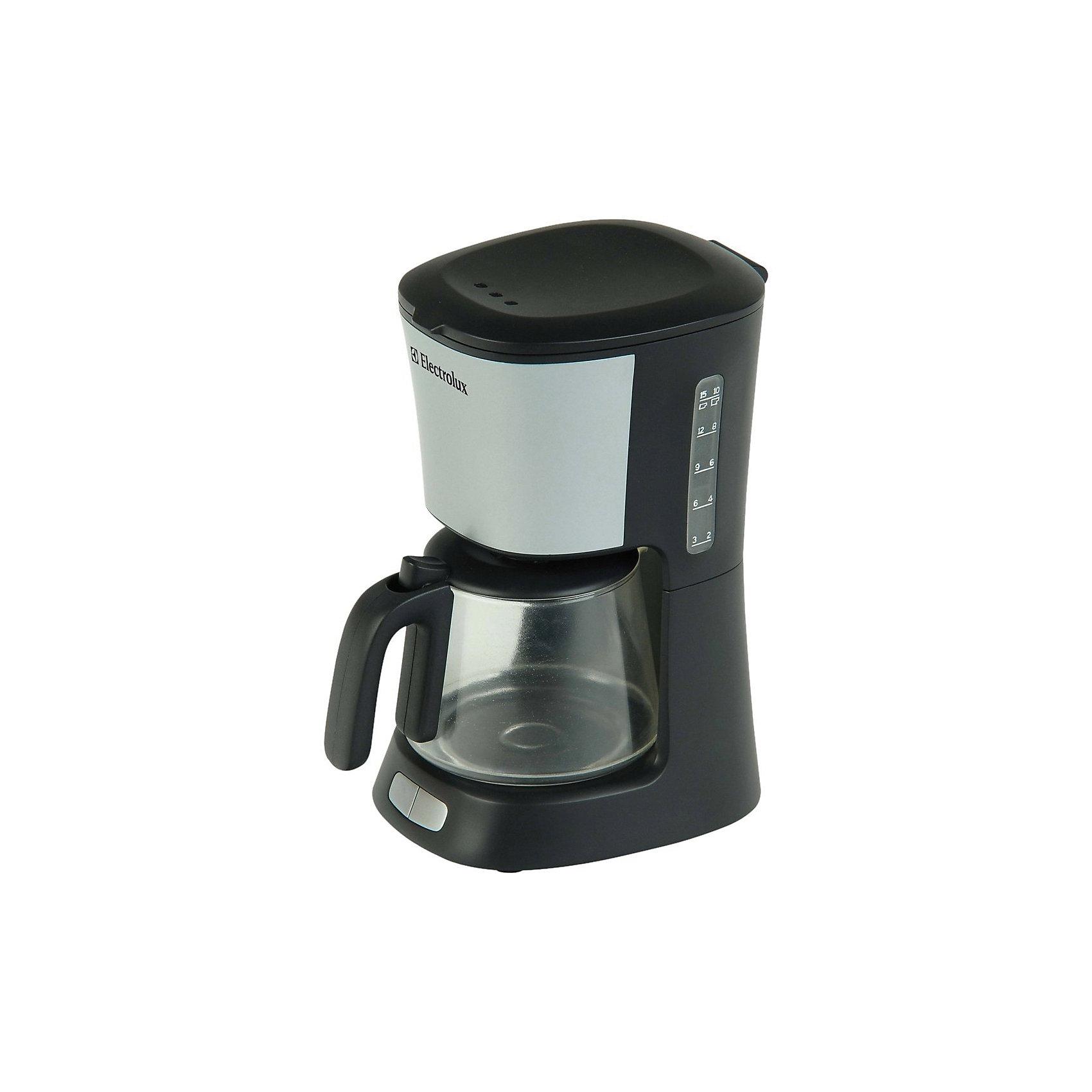Игрушечная кофеварка Klein Electrolux, с водойИгрушечная бытовая техника<br>Игрушечная копия кофеварки ELECTROLUX. Игра с водой: можно наливать воду в верхний резервуар, которая далее стекает в кофейник, как при варке кофе. Не нагревается.<br><br>Ширина мм: 216<br>Глубина мм: 242<br>Высота мм: 127<br>Вес г: 770<br>Возраст от месяцев: 36<br>Возраст до месяцев: 120<br>Пол: Унисекс<br>Возраст: Детский<br>SKU: 7098836