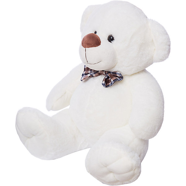 Мягкая игрушка Button Blue Мишка Марвин белый, 34 смМягкие игрушки животные<br>0,306653956148713<br>Ширина мм: 200; Глубина мм: 2; Высота мм: 3; Вес г: 625; Возраст от месяцев: 36; Возраст до месяцев: 120; Пол: Унисекс; Возраст: Детский; SKU: 7103992;