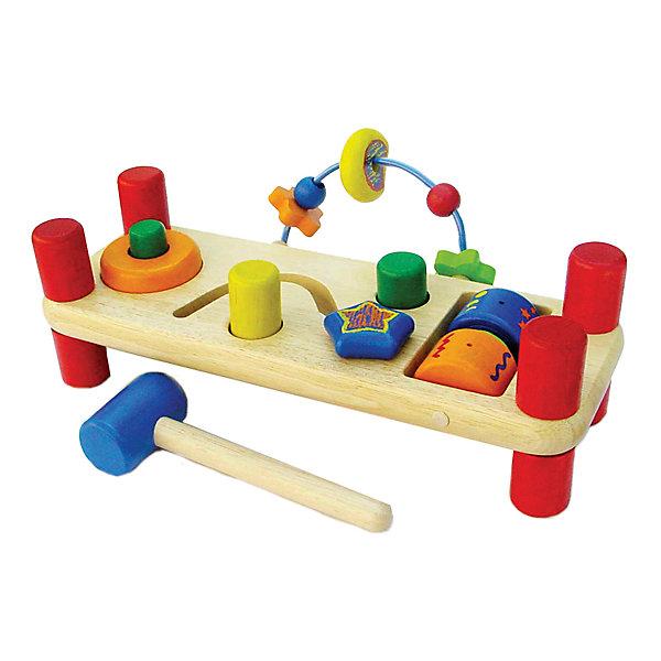 Развивающая игрушка Im Toy Деревянная скамейкаРазвивающие игрушки<br>0,331698577555397<br><br>Ширина мм: 210<br>Глубина мм: 3<br>Высота мм: 0<br>Вес г: 772<br>Возраст от месяцев: 36<br>Возраст до месяцев: 120<br>Пол: Унисекс<br>Возраст: Детский<br>SKU: 7104025