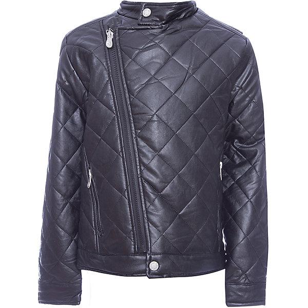 Куртка Scool для мальчикаВерхняя одежда<br>Характеристики товара:<br><br>• цвет: черный;<br>• состав; 55% полиуретан, 45% вискоза;<br>• подкладка: 100% полиэстер;<br>• утеплитель: 100% полиэстер, 120 г/м2;<br>• сезон: демисезон;<br>• температурный режим: от +15 до 0С;<br>• застежка: ассиметричная молния;<br>• воротник-стойка застегивается на пуговицу;<br>• гладкая подкладка из полиэстера;<br>• рукава с манжетами;<br>• карманы на молнии;<br>• коллекция: рок-фестиваль;<br>• страна бренда: Германия;<br>• страна изготовитель: Китай.<br><br>Куртка Scool для мальчика. Утепленная стеганная куртка - отличное решение для прохладной погоды.  Модель с воротником стойкой, рукава дополнены манжетами. Куртка выполнена из искусственной кожи. Асимметричное расположение застежки - молнии.<br><br>Куртку Scool для мальчика (Скул) можно купить в нашем интернет-магазине.<br><br>Ширина мм: 356<br>Глубина мм: 10<br>Высота мм: 245<br>Вес г: 519<br>Цвет: черный<br>Возраст от месяцев: 156<br>Возраст до месяцев: 168<br>Пол: Мужской<br>Возраст: Детский<br>Размер: 164,134,140,146,152,158<br>SKU: 7104695