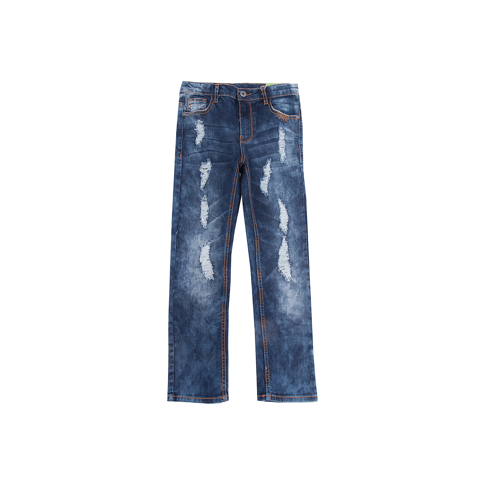 Джинсы Scool для мальчикаДжинсы<br>Джинсы Scool для мальчика<br>Практичные брюки - джинсы - отличное решение для повседневного гардероба ребенка. Классическая 5-ти карманная модель. Пояс изнутри регулируется за счет удобной резинки на пуговицах. Джинсы со шлевками, при необходимости можно использовать ремень. Модель декорирована декоративными потертостями.<br>Состав:<br>98% хлопок, 2% эластан<br><br>Ширина мм: 215<br>Глубина мм: 88<br>Высота мм: 191<br>Вес г: 336<br>Цвет: синий<br>Возраст от месяцев: 156<br>Возраст до месяцев: 168<br>Пол: Мужской<br>Возраст: Детский<br>Размер: 164,134,140,146,152,158<br>SKU: 7104758
