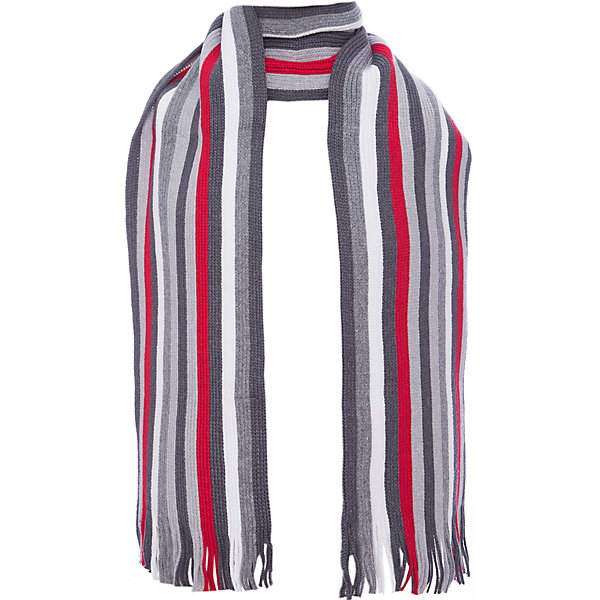 Шарф Scool для мальчикаВерхняя одежда<br>Характеристики товара:<br><br>• цвет: серый;<br>• состав; 60% хлопок, 40% акрил;<br>• сезон: демисезон, зима;<br>• температурный режим: от +5 до -30С;<br>• особенности: вязаный, в полоску;<br>• коллекция: рок-фестиваль;<br>• страна бренда: Германия;<br>• страна изготовитель: Китай.<br><br>Шарф Scool для мальчика. Стильный вязаный шарф согреет ребенка в промозглую погоду и дополнит образ. Модель выполнена в технике yarn dyed - в процессе производства используются разного цвета нити. При рекомендуемом уходе изделие не линяет и надолго остается в первоначальном виде. За счет высокого содержание в материале натурального хлопка шарф не вызывает раздражений нежной детской кожи.<br><br>Шарф Scool для мальчика (Скул) можно купить в нашем интернет-магазине.<br>Ширина мм: 88; Глубина мм: 155; Высота мм: 26; Вес г: 106; Цвет: белый; Возраст от месяцев: 108; Возраст до месяцев: 168; Пол: Мужской; Возраст: Детский; Размер: one size; SKU: 7104830;