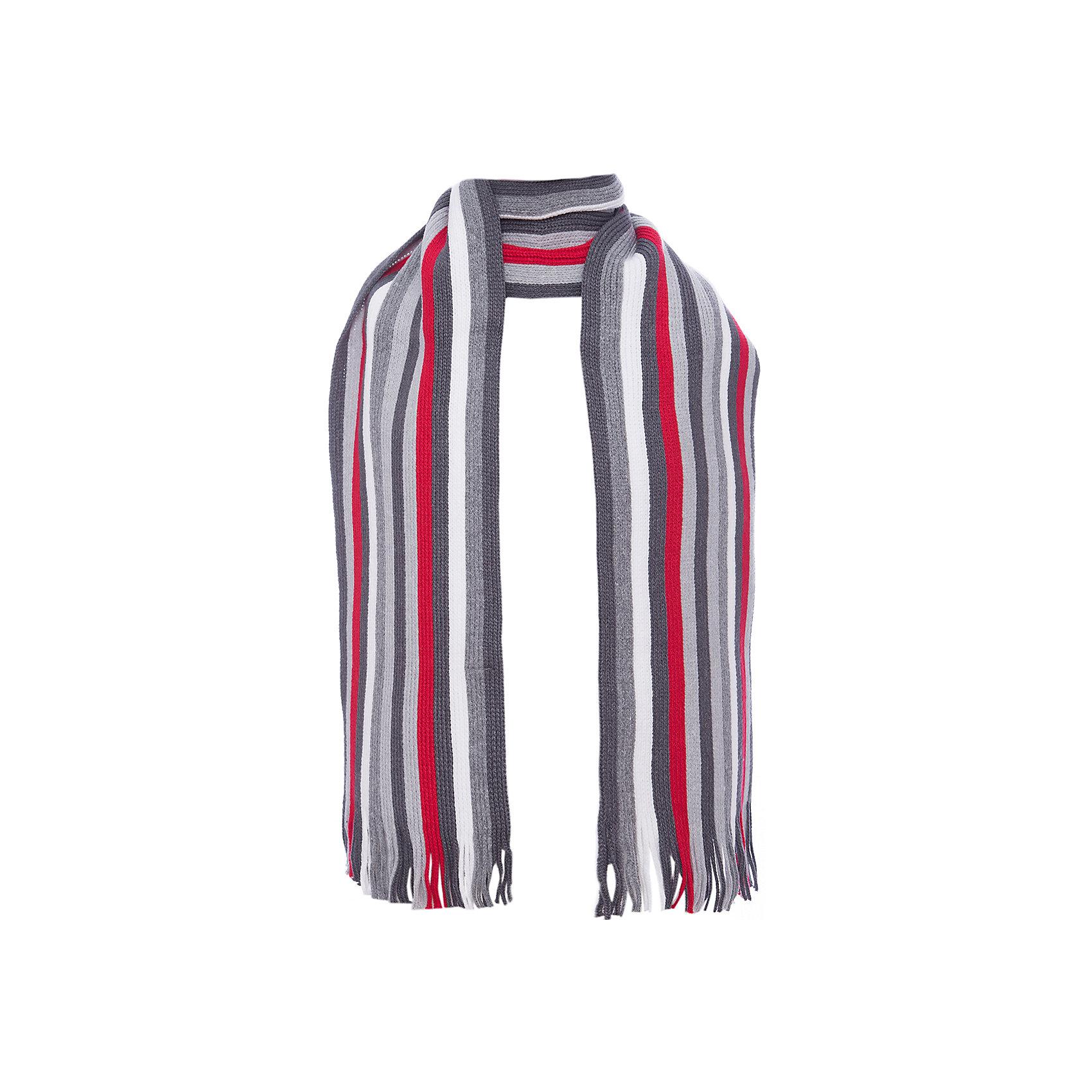 Шарф Scool для мальчикаВерхняя одежда<br>Шарф Scool для мальчика<br>Стильный вязаный шарф согреет ребенка в промозглую погоду и дополнит образ. Модель выполнена в технике yarn dyed - в процессе производства используются разного цвета нити. При рекомендуемом уходе изделие не линяет и надолго остается в первоначальном виде. За счет высокого содержание в материале натурального хлопка шарф не вызывает раздражений нежной детской кожи.<br>Состав:<br>60% хлопок, 40% акрил<br><br>Ширина мм: 88<br>Глубина мм: 155<br>Высота мм: 26<br>Вес г: 106<br>Цвет: белый<br>Возраст от месяцев: 108<br>Возраст до месяцев: 168<br>Пол: Мужской<br>Возраст: Детский<br>Размер: one size<br>SKU: 7104830