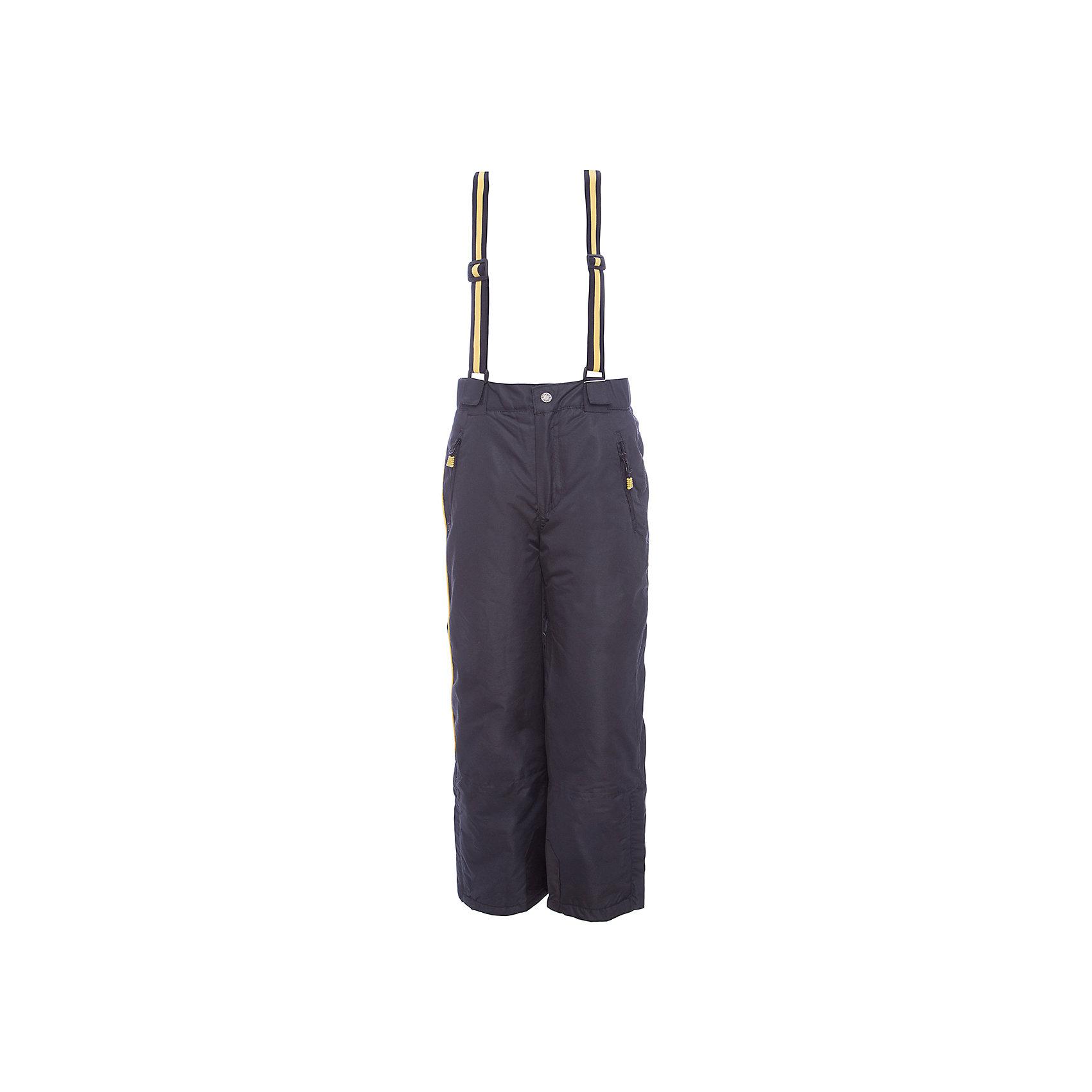 Брюки Scool для мальчикаВерхняя одежда<br>Брюки Scool для мальчика<br>Теплые брюки из водонепроницаемой ткани. Пояс на широкой резинке. Застегивается на застежку - молнию и кнопку. Низ штанин дополнен специальными манжетами на резинках. Брюки на регулируемых бретелях. Подкладка из флиса. Модель с двумя встрочными карманами.<br>Состав:<br>Верх: 100% полиэстер, Подкладка: 100% полиэстер, Наполнитель: 100% полиэстер, 100 г/м2<br><br>Ширина мм: 215<br>Глубина мм: 88<br>Высота мм: 191<br>Вес г: 336<br>Цвет: черный<br>Возраст от месяцев: 156<br>Возраст до месяцев: 168<br>Пол: Мужской<br>Возраст: Детский<br>Размер: 164,134,140,146,152,158<br>SKU: 7104873