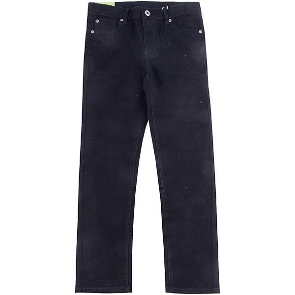 Джинсы Scool для мальчикаДжинсовая одежда<br>Характеристики товара:<br><br>• цвет: черный;<br>• состав; 97% хлопок, 3% эластан;<br>• сезон: демисезон;<br>• особенности: однотонные;<br>• застежка: ширинка на молнии и пуговица;<br>• наличие шлевок для ремня;<br>• 5 карманов;<br>• коллекция: милитари;<br>• страна бренда: Германия;<br>• страна изготовитель: Китай.<br><br>Джинсы Scool для мальчика. Классические брюки джинсы. 5-ти карманная модель. Пояс со шлевками, при необходимости можно использовать ремень. Брюки выполнены из натурального хлопка с peach эффектом.<br><br>Джинсы Scool для мальчика (Скул) можно купить в нашем интернет-магазине.<br><br>Ширина мм: 215<br>Глубина мм: 88<br>Высота мм: 191<br>Вес г: 336<br>Цвет: черный<br>Возраст от месяцев: 96<br>Возраст до месяцев: 108<br>Пол: Мужской<br>Возраст: Детский<br>Размер: 134,164,158,152,146,140<br>SKU: 7104894