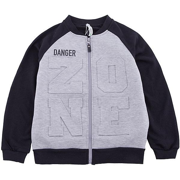 Куртка Scool для мальчикаВерхняя одежда<br>Характеристики товара:<br><br>• цвет: серый/черный;<br>• состав: спина и рукава: 80% хлопок, 20% полиэстер, полочка: 80% полиэстер, 15% хлопок, 5% эластан;<br>• сезон: демисезон;<br>• температурный режим: от +10С;<br>• застежка: молния;<br>• воротник-стойка;<br>• манжеты и низ изделия на мягкой резинке;<br>• два боковых кармана;<br>• коллекция: милитари;<br>• страна бренда: Германия;<br>• страна изготовитель: Китай.<br><br>Куртка Scool для мальчика. Куртка на молнии. Выполнена из смесового материала с высоким содержанием натурального хлопка. Воротник - стойка, манжеты и низ изделия на мягких трикотажных резинках. Модель дополнена встрочными карманами.<br><br>Куртку Scool для мальчика (Скул) можно купить в нашем интернет-магазине.<br><br>Ширина мм: 356<br>Глубина мм: 10<br>Высота мм: 245<br>Вес г: 519<br>Цвет: белый<br>Возраст от месяцев: 96<br>Возраст до месяцев: 108<br>Пол: Мужской<br>Возраст: Детский<br>Размер: 134,164,158,152,146,140<br>SKU: 7104922