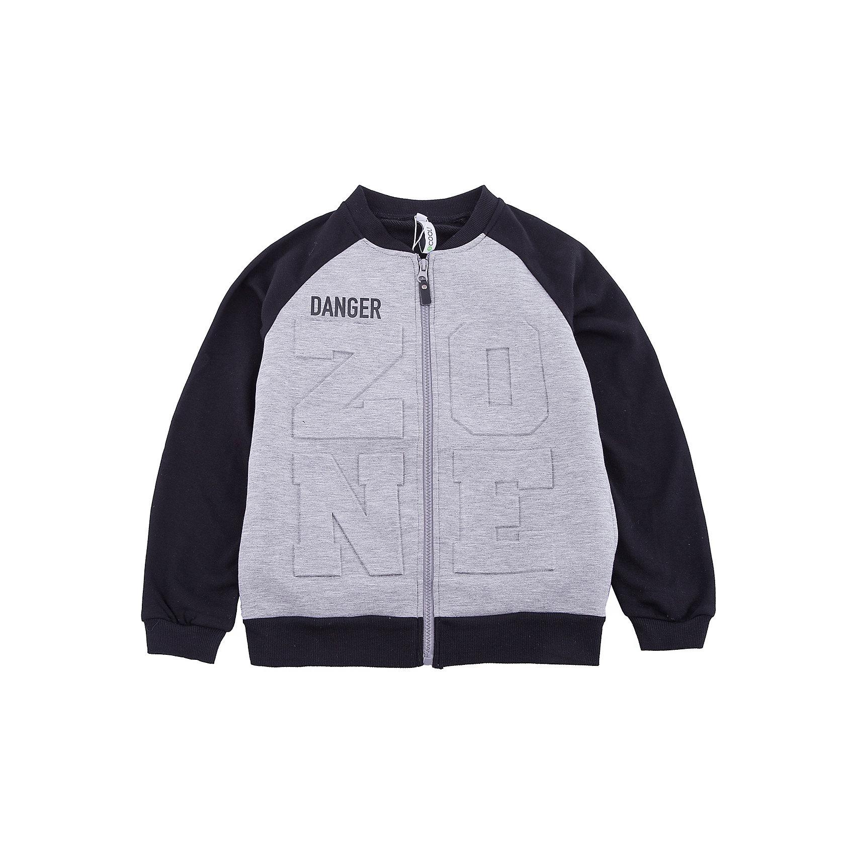 Куртка Scool для мальчикаВерхняя одежда<br>Куртка Scool для мальчика<br>Куртка на молнии. Выполнена из смесового материала с высоким содержанием натурального хлопка. Воротник - стойка, манжеты и низ изделия на мягких трикотажных резинках. Модель дополнена встрочными карманами.<br>Состав:<br>Полочка: 15% хлопок, 80% полиэстер, 5% эластан, спинка и рукава: 80% хлопок, 20% полиэстер<br><br>Ширина мм: 356<br>Глубина мм: 10<br>Высота мм: 245<br>Вес г: 519<br>Цвет: белый<br>Возраст от месяцев: 156<br>Возраст до месяцев: 168<br>Пол: Мужской<br>Возраст: Детский<br>Размер: 164,134,140,146,152,158<br>SKU: 7104922