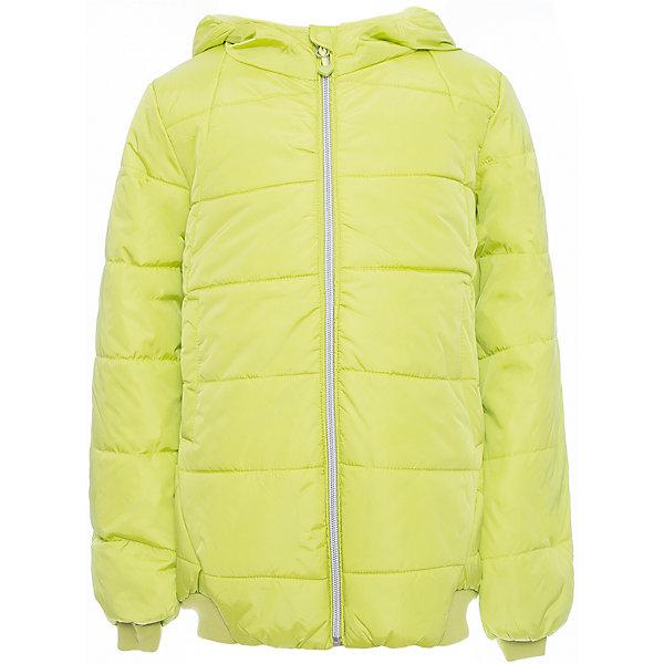 Куртка Scool для девочкиВерхняя одежда<br>Характеристики товара:<br><br>• цвет: желтый;<br>• состав: 100% нейлон;<br>• подкладка: 100% полиэстер;<br>• утеплитель: 100% полиэстер, 260 г/м2;<br>• сезон: зима;<br>• температурный режим: от 0 до -20С;<br>• водоотталкивающая пропитка;<br>• застежка: молния с защитой подбородка;<br>• капюшон не съемный;<br>• мягкая резинка по кромке капюшона;<br>• манжеты и низ куртки на плотной трикотажной резинке;<br>• два кармана на кнопках;<br>• светоотражающие детали;<br>• коллекция: городские огни;<br>• страна бренда: Германия;<br>• страна изготовитель: Китай.<br><br>Куртка Scool для девочки. Утепленная куртка с капюшоном яркого сочного цвета - хорошее решение для периода смены сезонов. Ткань с водоотталкивающей пропиткой. Капюшон на мягкой резинке, даже во время активных игр капюшон не упадет с головы ребенка. Куртка дополнена вшивными карманами на кнопках. Низ и манжеты куртки на плотной трикотажной резинке. Светоотражатели обеспечат видимость ребенка в темное время суток.<br><br>Куртку Scool для девочки (Скул) можно купить в нашем интернет-магазине.<br>Ширина мм: 356; Глубина мм: 10; Высота мм: 245; Вес г: 519; Цвет: зеленый; Возраст от месяцев: 132; Возраст до месяцев: 144; Пол: Женский; Возраст: Детский; Размер: 152,146,140,134,164,158; SKU: 7105156;