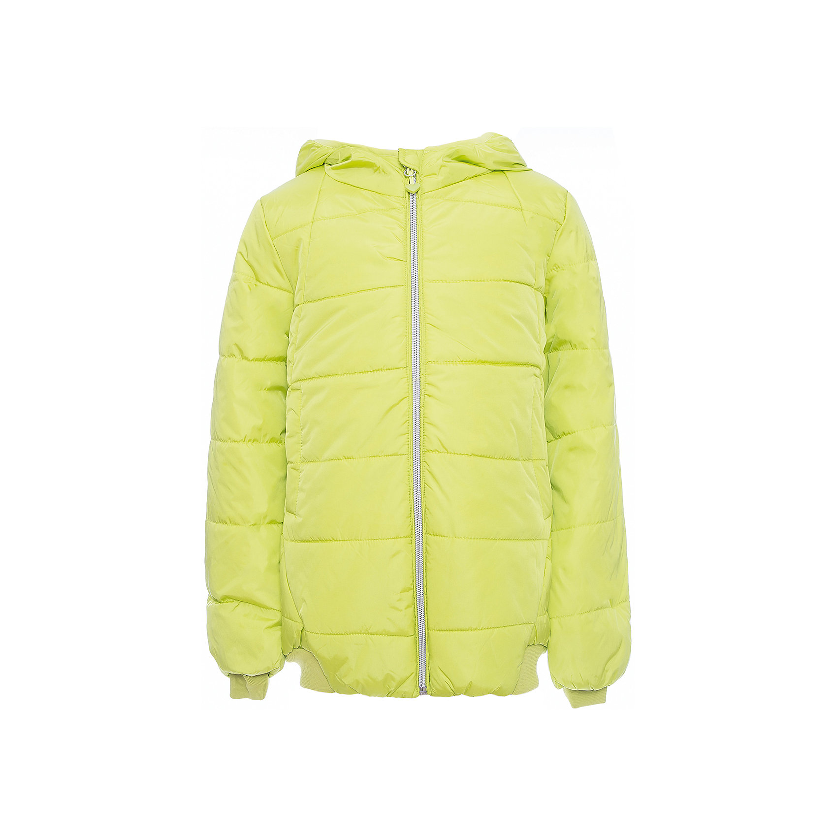 Куртка Scool для девочкиВерхняя одежда<br>Куртка Scool для девочки<br>Утепленная куртка с капюшоном яркого сочного цвета - хорошее решение для периода смены сезонов. Ткань с водоотталкивающей пропиткой. Капюшон на мягкой резинке, даже во время активных игр капюшон не упадет с головы ребенка. Куртка дополнена вшивными карманами на кнопках. Низ и манжеты куртки на плотной трикотажной резинке. Светоотражатели обеспечат видимость ребенка в темное время суток.<br>Состав:<br>Верх: 100% нейлон, подкладка: 100% полиэстер, наполнитель: 100% полиэстер, 260 г/м2<br><br>Ширина мм: 356<br>Глубина мм: 10<br>Высота мм: 245<br>Вес г: 519<br>Цвет: зеленый<br>Возраст от месяцев: 156<br>Возраст до месяцев: 168<br>Пол: Женский<br>Возраст: Детский<br>Размер: 164,134,140,146,152,158<br>SKU: 7105156