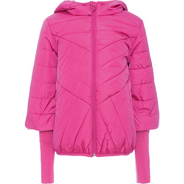 Куртка Scool для девочкиВерхняя одежда<br>Характеристики товара:<br><br>• цвет: розовый;<br>• состав: 100% нейлон;<br>• подкладка: 100% полиэстер;<br>• утеплитель: 100% полиэстер, 200 г/м2;<br>• сезон: зима;<br>• температурный режим: от 0 до -20С;<br>• водоотталкивающая пропитка;<br>• застежка: молния с защитой подбородка;<br>• капюшон не съемный;<br>• кромка капюшона и низ куртки на мягких резинках;<br>• рукава 3/4;<br>• удлиненные манжеты из плотного трикотажа;<br>• два кармана на молнии;<br>• светоотражающие детали;<br>• коллекция: городские огни;<br>• страна бренда: Германия;<br>• страна изготовитель: Китай.<br><br>Куртка Scool для девочки. Утепленная куртка с капюшоном яркого сочного цвета - хорошее решение для периода смены сезонов. Ткань с водоотталкивающей пропиткой. Модель на молнии, специальный карман для фиксации бегунка у горловины изделия не позволит застежке травмировать нежную кожу ребенка.<br><br>Модель с модными рукавами - 3/4. Удлиненные манжеты из плотного трикотажа позволят сохранить тепло. Куртка с вшивными карманами на молнии. Капюшон и низ куртки на мягких резинках. Светоотражатели обеспечат видимость ребенка в темное время суток.<br><br>Куртку Scool для девочки (Скул) можно купить в нашем интернет-магазине.<br>Ширина мм: 356; Глубина мм: 10; Высота мм: 245; Вес г: 519; Цвет: розовый; Возраст от месяцев: 96; Возраст до месяцев: 108; Пол: Женский; Возраст: Детский; Размер: 134,164,158,152,146,140; SKU: 7105163;