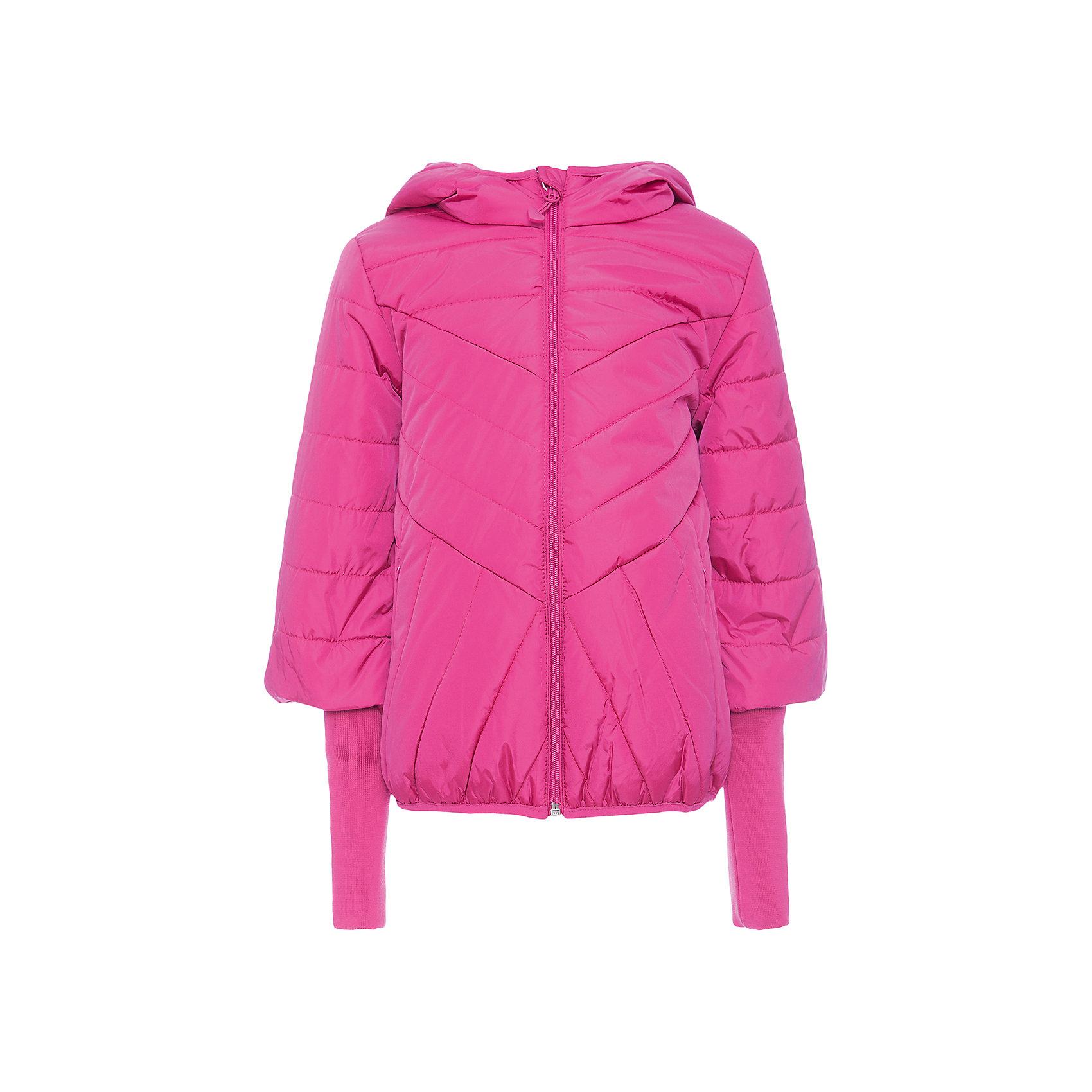 Куртка Scool для девочкиВерхняя одежда<br>Куртка Scool для девочки<br>Утепленная куртка с капюшоном яркого сочного цвета - хорошее решение для периода смены сезонов. Ткань с водоотталкивающей пропиткой. Модель на молнии, специальный карман для фиксации бегунка у горловины изделия не позволит застежке травмировать нежную кожу ребенка. Модель с модными рукавами - 3/4. Удлиненные манжеты из плотного трикотажа позволят сохранить тепло. Куртка с вшивными карманами на молнии. Капюшон и низ куртки на мягких резинках. Светоотражатели обеспечат видимость ребенка в темное время суток.<br>Состав:<br>Верх: 100% нейлон, подкладка: 100% полиэстер, наполнитель: 100% полиэстер, 200 г/м2<br><br>Ширина мм: 356<br>Глубина мм: 10<br>Высота мм: 245<br>Вес г: 519<br>Цвет: розовый<br>Возраст от месяцев: 156<br>Возраст до месяцев: 168<br>Пол: Женский<br>Возраст: Детский<br>Размер: 164,134,140,146,152,158<br>SKU: 7105163