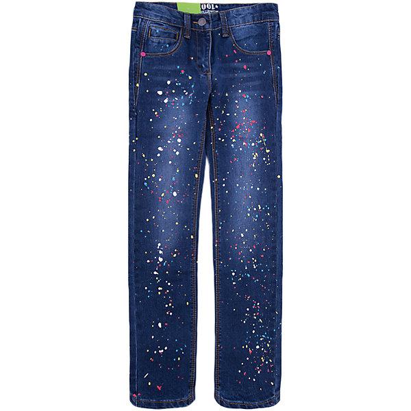 Джинсы Scool для девочкиДжинсовая одежда<br>Характеристики товара:<br><br>• цвет: синий;<br>• состав: 75% хлопок, 23% полиэстер, 2% эластан;<br>• сезон: демисезон;<br>• особенности: с рисунком;<br>• застежка: ширинка на молнии и пуговица;<br>• наличие шлевок для ремня;<br>• карманы;<br>• коллекция: городские огни;<br>• страна бренда: Германия;<br>• страна изготовитель: Китай.<br><br>Джинсы Scool для девочки. Брюки - джинсы из смесовой ткани с высоким содержанием хлопка. Классическая модель со шлевками. В качестве декора использован принт в виде разноцветных брызг красок.<br><br>Джинсы Scool для девочки (Скул) можно купить в нашем интернет-магазине.<br><br>Ширина мм: 215<br>Глубина мм: 88<br>Высота мм: 191<br>Вес г: 336<br>Цвет: синий<br>Возраст от месяцев: 132<br>Возраст до месяцев: 144<br>Пол: Женский<br>Возраст: Детский<br>Размер: 152,146,140,134,164,158<br>SKU: 7105324