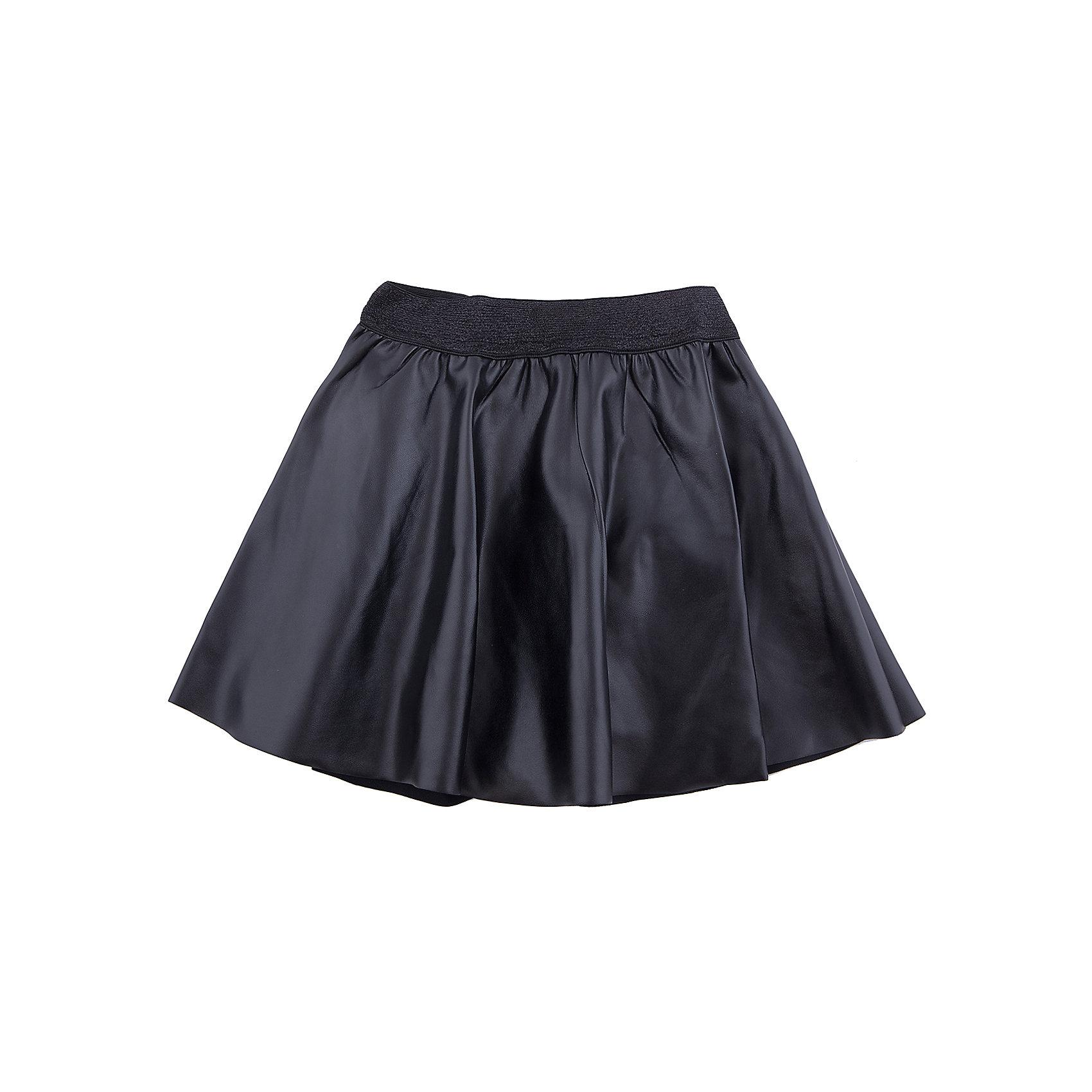 Юбка Scool для девочкиЮбки<br>Характеристики товара:<br><br>• цвет: черный;<br>• состав: 95% полиэстер, 5% эластан;<br>• подкладка: 100% хлопок;<br>• сезон: демисезон;<br>• особенности: кожаная, на подкладке;<br>• юбка на резинке;<br>• юбка на подкладке;<br>• коллекция: городские огни;<br>• страна бренда: Германия;<br>• страна изготовитель: Китай.<br><br>Юбка Scool для девочки. Эффектная юбка из черной искусственной кожи дополнит повседневный гардероб ребенка. Свободный крой не сковывает движений. Пояс на трикотажной резинке, не сдавливающей живот ребенка, декорирован люрексной нитью.<br><br>Юбку Scool для девочки (Скул) можно купить в нашем интернет-магазине.<br><br>Ширина мм: 207<br>Глубина мм: 10<br>Высота мм: 189<br>Вес г: 183<br>Цвет: черный<br>Возраст от месяцев: 156<br>Возраст до месяцев: 168<br>Пол: Женский<br>Возраст: Детский<br>Размер: 164,134,140,146,152,158<br>SKU: 7105352