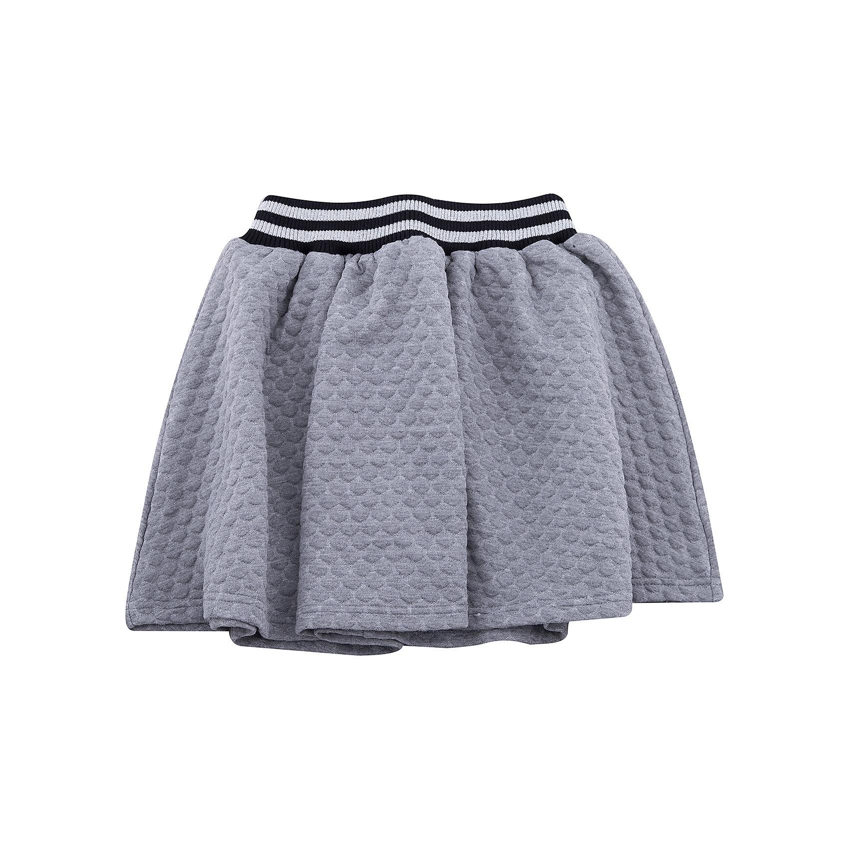 Юбка Scool для девочкиЮбки<br>Юбка Scool для девочки<br>Удобная юбка из рельефного трикотажа - отличное дополнение к повседневному гардеробу ребенка. Пояс на широкой резинке, декорирован люрексной нитью. Свободный крой не сковывает движений. Мягкая ткань комфортна при носке.<br>Состав:<br>65% полиэстер, 35% вискоза<br><br>Ширина мм: 207<br>Глубина мм: 10<br>Высота мм: 189<br>Вес г: 183<br>Цвет: белый<br>Возраст от месяцев: 96<br>Возраст до месяцев: 108<br>Пол: Женский<br>Возраст: Детский<br>Размер: 134,158,164,140,146,152<br>SKU: 7105380