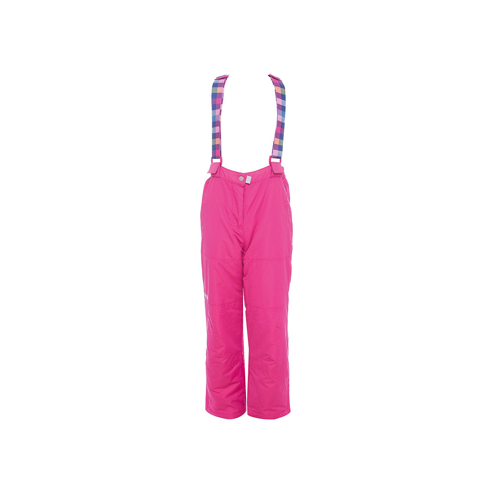 Брюки Scool для девочкиВерхняя одежда<br>Характеристики товара:<br><br>• цвет: розовый;<br>• состав: 100% полиэстер;<br>• подкладка: 100% полиэстер;<br>• утеплитель: 100% полиэстер, 100 г/м2;<br>• сезон: зима;<br>• температурный режим: от 0 до -20С;<br>• водонепроницаемая ткань;<br>• застежка: ширинка на молнии и кнопка;<br>• съемные, регулируемые бретельки на липучках;<br>• пояс брюк на широкой резинке;<br>• манжеты внизу штанин на резинках;<br>• штрипки;<br>• гладкая подкладка из полиэстера;<br>• два боковых кармана на липучках;<br>• светоотражающие детали;<br>• коллекция: Привет, Париж!;<br>• страна бренда: Германия;<br>• страна изготовитель: Китай.<br><br>Брюки Scool для девочки. Брюки из водонепроницаемой ткани. Регулируемые бретели на липучках, при необходимости их можно отстегнуть. Пояс на широкой резинке. Брюки застегиваются на молнию и кнопку. Низ штанин дополнен специальными манжетами со штрипками. Светоотражатели обеспечат видимость ребенка в темное время суток. Брюки с встрочными карманами на липучках.<br><br>Брюки Scool для девочки (Скул) можно купить в нашем интернет-магазине.<br><br>Ширина мм: 215<br>Глубина мм: 88<br>Высота мм: 191<br>Вес г: 336<br>Цвет: розовый<br>Возраст от месяцев: 156<br>Возраст до месяцев: 168<br>Пол: Женский<br>Возраст: Детский<br>Размер: 164,134,140,146,152,158<br>SKU: 7105506