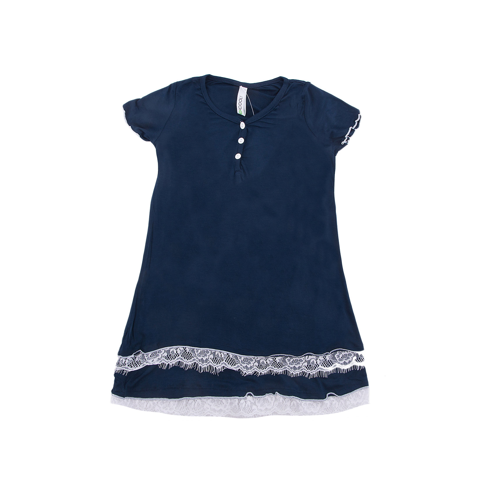 Ночная сорочка Scool для девочкиПижамы и сорочки<br>Характеристики товара:<br><br>• цвет: синий;<br>• состав: 95% вискоза, 5% эластан;<br>• сезон: круглый год;<br>• особенности: однотонная;<br>• на полочке есть пуговки;<br>• декорирована тесьмой;<br>• коллекция: Домашний уют;<br>• страна бренда: Германия;<br>• страна изготовитель: Китай.<br><br>Сорочка Scool для девочки. Эту уютную сорочку можно использовать не только для сна, но и в качестве домашней одежды. Модель из вискозы. За счет своей высокой гигроскопичности этот материал отлично впитывает лишюю влагу, прияттен к телу и не вызывает раздражений. На полочке расположен ряд аккуратных пуговиц. В качестве декора использована небольшая тесьма.<br><br>Ночную сорочку Scool для девочки (Скул) можно купить в нашем интернет-магазине.<br><br>Ширина мм: 281<br>Глубина мм: 70<br>Высота мм: 188<br>Вес г: 295<br>Цвет: белый<br>Возраст от месяцев: 156<br>Возраст до месяцев: 168<br>Пол: Женский<br>Возраст: Детский<br>Размер: 164,134,140,146,152,158<br>SKU: 7105715