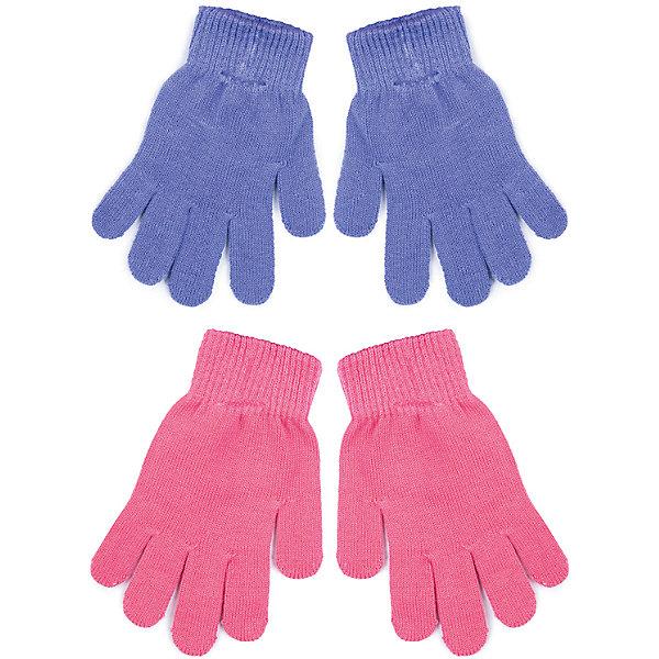 Перчатки PlayToday для девочкиПерчатки, варежки<br>Характеристики товара:<br><br>• цвет: розовый, сиреневый<br>• комплектация: 2 пары<br>• состав ткани: 80% хлопок, 18% нейлон, 2% эластан<br>• сезон: зима<br>• температурный режим: от -10 до +10<br>• застежка: резинки<br>• страна бренда: Германия<br>• страна изготовитель: Китай<br><br>Вязаные перчатки для девочки снабжены резинками для удержания тепла внутри. Детские перчатки отлично подходят для прохладной погоды. Эти перчатки для детей не линяют и надолго остаются в прежнем виде. Одежда и аксессуары для детей от PlayToday - качественные и красивые вещи. <br><br>Перчатки PlayToday (ПлэйТудэй) для девочки можно купить в нашем интернет-магазине.<br><br>Ширина мм: 162<br>Глубина мм: 171<br>Высота мм: 55<br>Вес г: 119<br>Цвет: белый<br>Возраст от месяцев: 48<br>Возраст до месяцев: 60<br>Пол: Женский<br>Возраст: Детский<br>Размер: 2,4,3<br>SKU: 7106151