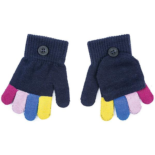 Перчатки PlayToday для девочкиПерчатки, варежки<br>Характеристики товара:<br><br>• цвет: синий<br>• состав ткани: 80% хлопок, 18% нейлон, 2% эластан<br>• сезон: зима<br>• температурный режим: от -10 до +10<br>• особенности модели: трансформируются в варежки<br>• застежка: резинки<br>• страна бренда: Германия<br>• страна изготовитель: Китай<br><br>Эти вязаные перчатки для девочки легко превращаются в варежки. Детские перчатки отлично подходят для прохладной погоды. Перчатки для детей не линяют и надолго остаются в прежнем виде. Детская одежда и аксессуары от PlayToday - это стильные вещи по доступным ценам.<br><br>Перчатки PlayToday (ПлэйТудэй) для девочки можно купить в нашем интернет-магазине.<br><br>Ширина мм: 162<br>Глубина мм: 171<br>Высота мм: 55<br>Вес г: 119<br>Цвет: белый<br>Возраст от месяцев: 48<br>Возраст до месяцев: 60<br>Пол: Женский<br>Возраст: Детский<br>Размер: 2,4,3<br>SKU: 7106167