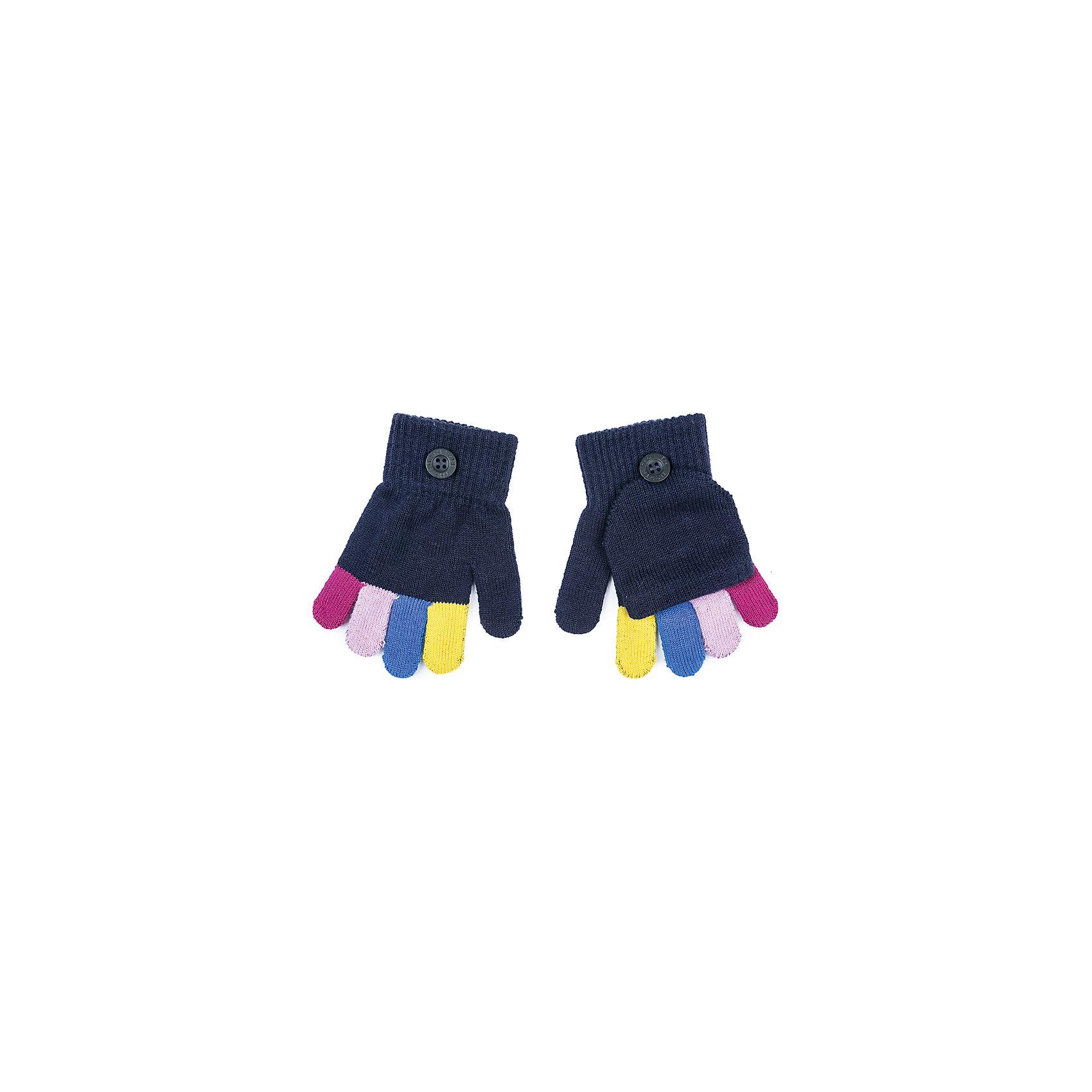 Перчатки PlayToday для девочкиПерчатки, варежки<br>Перчатки PlayToday для девочки<br>Перчатки-варежки. Выполнены по технологии yarn dyed - в процессе производства используются разного цвета нити. При рекомендуемом уходе модель не линяет и надолго остается в первоначальном виде. Манжеты на плотной трикотажной резинке. Перчатки дополнены специальным карманом, за счет которого формируются варежки.<br>Состав:<br>80% хлопок, 18% нейлон, 2% эластан<br><br>Ширина мм: 162<br>Глубина мм: 171<br>Высота мм: 55<br>Вес г: 119<br>Цвет: белый<br>Возраст от месяцев: 84<br>Возраст до месяцев: 96<br>Пол: Женский<br>Возраст: Детский<br>Размер: 4,2,3<br>SKU: 7106167