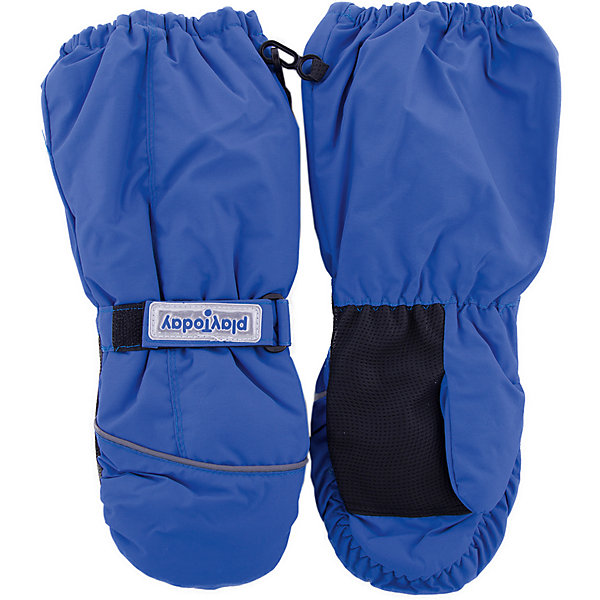 Варежки PlayToday для девочкиПерчатки, варежки<br>Характеристики товара:<br><br>• цвет: голубой<br>• состав ткани: 100% полиэстер<br>• подкладка: 100% полиэстер<br>• утеплитель: 100% полиэстер<br>• сезон: зима<br>• температурный режим: от -15 до +5<br>• особенности модели: спортивный стиль<br>• застежка: липучки, резинки<br>• страна бренда: Германия<br>• страна изготовитель: Китай<br><br>Такие варежки для девочки снабжены резинками для удержания тепла внутри. Детские варежки имеет удлиненные запястья. Варежки для детей - на мягкой флисовой подкладке. Одежда и аксессуары для детей от PlayToday - качественные и красивые вещи. <br><br>Варежки PlayToday (ПлэйТудэй) для девочки можно купить в нашем интернет-магазине.<br>Ширина мм: 162; Глубина мм: 171; Высота мм: 55; Вес г: 119; Цвет: белый; Возраст от месяцев: 84; Возраст до месяцев: 96; Пол: Женский; Возраст: Детский; Размер: 4,2,3; SKU: 7106171;