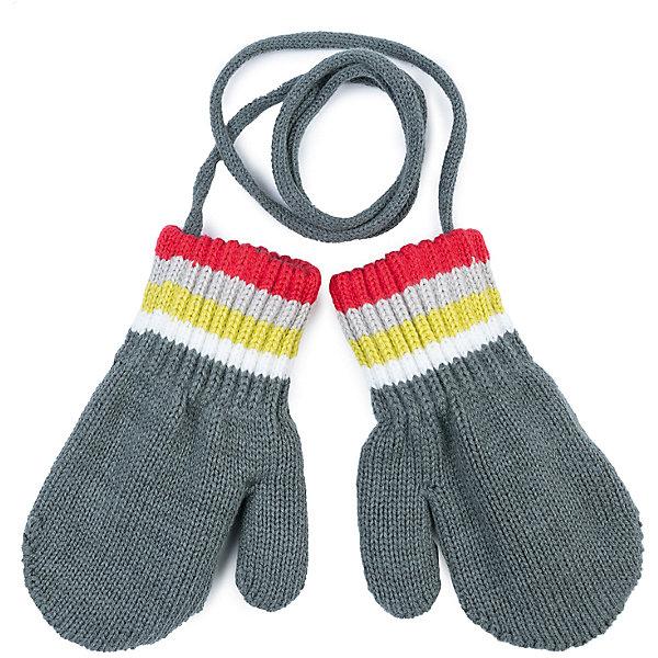 Варежки PlayToday для мальчикаПерчатки, варежки<br>Характеристики товара:<br><br>• цвет: серый<br>• состав ткани: 58% хлопок, 40% акрил, 2% эластан<br>• сезон: зима<br>• температурный режим: от -15 до +5<br>• особенности модели: шнурок<br>• застежка: резинки<br>• страна бренда: Германия<br>• страна изготовитель: Китай<br><br>Серые двухслойные варежки для мальчика снабжены резинками для удержания тепла внутри. Детские варежки соединены шнурком. Варежки для детей - на мягкой подкладке. Одежда и аксессуары для детей от PlayToday - качественные и красивые вещи. <br><br>Варежки PlayToday (ПлэйТудэй) для мальчика можно купить в нашем интернет-магазине.<br><br>Ширина мм: 162<br>Глубина мм: 171<br>Высота мм: 55<br>Вес г: 119<br>Цвет: серый<br>Возраст от месяцев: 9<br>Возраст до месяцев: 12<br>Пол: Мужской<br>Возраст: Детский<br>Размер: 0,1<br>SKU: 7106265