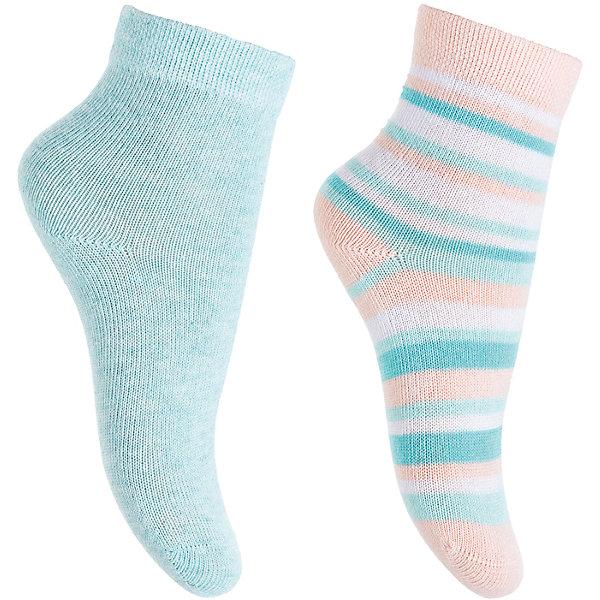 Носки, 2 пары  PlayToday для девочкиНосочки и колготки<br>Характеристики товара:<br><br>• цвет: розовый, голубой<br>• комплектация: 2 пары<br>• состав ткани: 75% хлопок, 22% нейлон, 3% эластан<br>• сезон: круглый год<br>• страна бренда: Германия<br>• страна изготовитель: Китай<br><br>Одежда и аксессуары для детей от PlayToday - это качественные и красивые вещи. Носки для детей сделаны из дышащего мягкого материала. Трикотажные носки для девочки выполнены в красивой расцветке. Детские носки износостойкие, отлично сохраняют яркость цвета. <br><br>Носки PlayToday (ПлэйТудэй) для девочки можно купить в нашем интернет-магазине.<br><br>Ширина мм: 87<br>Глубина мм: 10<br>Высота мм: 105<br>Вес г: 115<br>Цвет: голубой<br>Возраст от месяцев: 18<br>Возраст до месяцев: 24<br>Пол: Женский<br>Возраст: Детский<br>Размер: 12,11<br>SKU: 7107256