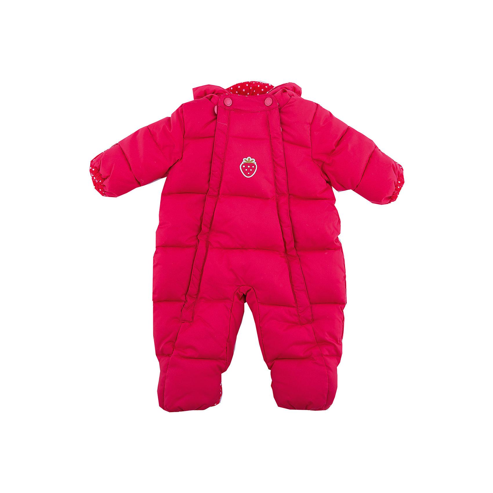 Комбинезон PlayToday для девочкиВерхняя одежда<br>Комбинезон PlayToday для девочки<br>Теплый комбинезониз из водонепроницаемой ткани. Подкладка модели из натурального велюра. Модель застегивается на две молнии. Манжеты и низ штанин дополнены специальными карманами, с помощью которым, при необходимости можно закрыть и руки, и ноги ребенка. По контуру встрочного капюшона расположен регулируемый шнур- кулиска. В качестве декора использована небольшая аппликация.<br>Состав:<br>Верх: 100% полиэстер, подкладка: 80% хлопок, 20% полиэстер, Утеплитель 100% полиэстер, 300 г/м2<br><br>Ширина мм: 157<br>Глубина мм: 13<br>Высота мм: 119<br>Вес г: 200<br>Цвет: красный<br>Возраст от месяцев: 3<br>Возраст до месяцев: 6<br>Пол: Женский<br>Возраст: Детский<br>Размер: 68,56<br>SKU: 7107259