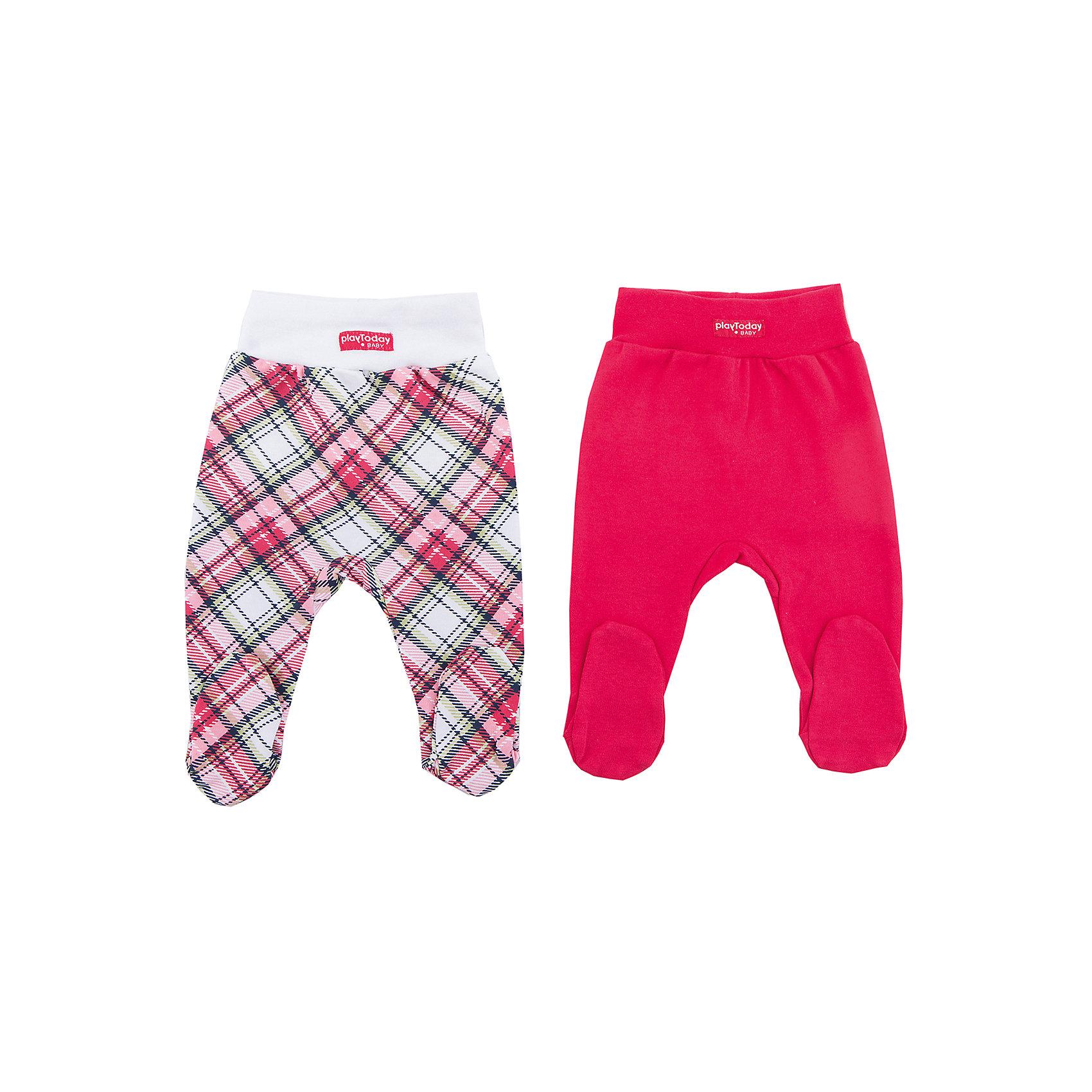 Ползунки, 2 шт PlayToday для девочкиПолзунки и штанишки<br>Ползунки PlayToday для девочки<br>Удобные ползунки - штанишки дополнят гардероб ребенка. Модели на широких удобных резинках, не сдавливающих живот ребенка. Аккуратные швы не вызывают неприятных ощущений. Отлично подойдут и для домашнего использования, и для прогулок. Натуральная ткань приятна к телу и не вызывает раздражений нежной детской кожи.<br>Состав:<br>100% хлопок<br><br>Ширина мм: 157<br>Глубина мм: 13<br>Высота мм: 119<br>Вес г: 200<br>Цвет: белый<br>Возраст от месяцев: 2<br>Возраст до месяцев: 5<br>Пол: Женский<br>Возраст: Детский<br>Размер: 62,56,74,68<br>SKU: 7107307