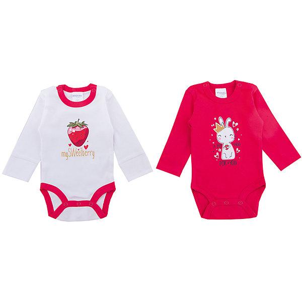 Боди, 2 шт  PlayToday для девочкиБоди<br>Характеристики товара:<br><br>• цвет: белый, красный<br>• комплектация: 2 шт.<br>• состав ткани: 100% хлопок<br>• сезон: круглый год<br>• застежка: кнопки<br>• длинные рукава<br>• страна бренда: Германия<br>• страна изготовитель: Китай<br><br>Детские боди из комплекта имеют удобные кнопки. Боди для девочки выполнены в красивой расцветке, украшены принтами. Боди для детей сделаны из дышащего натурального хлопка. Одежда и аксессуары для детей от PlayToday - это качественные и красивые вещи. <br><br>Боди PlayToday (ПлэйТудэй) для девочки можно купить в нашем интернет-магазине.<br><br>Ширина мм: 157<br>Глубина мм: 13<br>Высота мм: 119<br>Вес г: 200<br>Цвет: белый<br>Возраст от месяцев: 0<br>Возраст до месяцев: 3<br>Пол: Женский<br>Возраст: Детский<br>Размер: 56,74,68,62<br>SKU: 7107322