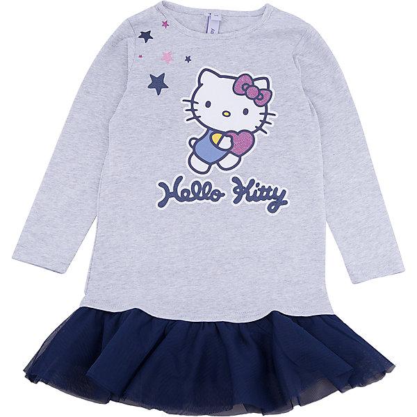 Платье PlayToday для девочкиОсенне-зимние платья и сарафаны<br>Характеристики товара:<br><br>• цвет: серый<br>• состав ткани: 95% хлопок, 5% эластан<br>• сезон: демисезон<br>• длинные рукава<br>• страна бренда: Германия<br>• страна изготовитель: Китай<br><br>Стильное платье для детей сделано из дышащего материала. Трикотажное платье для девочки - удобная и модная вещь. Детское платье декорировано оригинальным принтом. Детская одежда и обувь от PlayToday - это стильные вещи по доступным ценам. <br><br>Платье PlayToday (ПлэйТудэй) для девочки можно купить в нашем интернет-магазине.<br><br>Ширина мм: 236<br>Глубина мм: 16<br>Высота мм: 184<br>Вес г: 177<br>Цвет: белый<br>Возраст от месяцев: 24<br>Возраст до месяцев: 36<br>Пол: Женский<br>Возраст: Детский<br>Размер: 98,128,122,116,110,104<br>SKU: 7107634