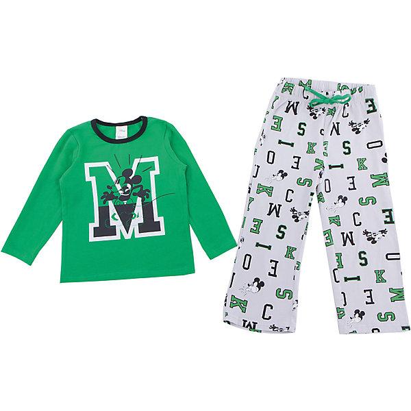Комплект: футболка с длинным рукавом и брюки PlayToday для мальчикаКомплекты<br>Характеристики товара:<br><br>• цвет: зеленый<br>• комплектация: лонгслив и брюки<br>• состав ткани: 95% хлопок, 5% эластан<br>• сезон: демисезон<br>• особенность модели: спортивный стиль<br>• длинные рукава<br>• пояс: резинка, шнурок<br>• страна бренда: Германия<br>• страна изготовитель: Китай<br><br>Этот детский комплект отличается мягкими швами и продуманным кроем. Трикотажный детский комплект состоит из лонгслива и брюк. Комплект для мальчика подойдет для занятий спортом. Комплект для детей сделан из легких качественных материалов. Детская одежда и обувь от европейского бренда PlayToday - выбор многих родителей. <br><br>Комплект: лонгслив и брюки PlayToday (ПлэйТудэй) для мальчика можно купить в нашем интернет-магазине.<br><br>Ширина мм: 230<br>Глубина мм: 40<br>Высота мм: 220<br>Вес г: 250<br>Цвет: белый<br>Возраст от месяцев: 24<br>Возраст до месяцев: 36<br>Пол: Мужской<br>Возраст: Детский<br>Размер: 98,128,122,116,110,104<br>SKU: 7107641