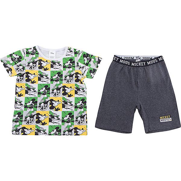 Купить Комплект: футболка и шорты PlayToday для мальчика, Китай, белый, 104, 116, 110, 98, 128, 122, Мужской