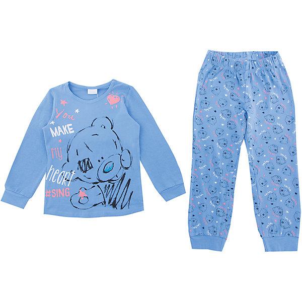 Комплект PlayToday для девочкиКомплекты<br>Характеристики товара:<br><br>• цвет: голубой<br>• комплектация: лонгслив и брюки<br>• состав ткани: 95% хлопок, 5% эластан<br>• сезон: демисезон<br>• особенность модели: спортивный стиль<br>• длинные рукава<br>• пояс: резинка<br>• страна бренда: Германия<br>• страна изготовитель: Китай<br><br>Этот детский комплект отличается мягкими швами и продуманным кроем. Трикотажный детский комплект состоит из лонгслива и брюк. Комплект для девочки подойдет для занятий спортом. Комплект для детей сделан из легких качественных материалов. Детская одежда и обувь от европейского бренда PlayToday - выбор многих родителей. <br><br>Комплект: лонгслив и брюки PlayToday (ПлэйТудэй) для девочки можно купить в нашем интернет-магазине.<br>Ширина мм: 356; Глубина мм: 10; Высота мм: 245; Вес г: 519; Цвет: белый; Возраст от месяцев: 24; Возраст до месяцев: 36; Пол: Женский; Возраст: Детский; Размер: 128,122,116,110,104,98; SKU: 7107677;