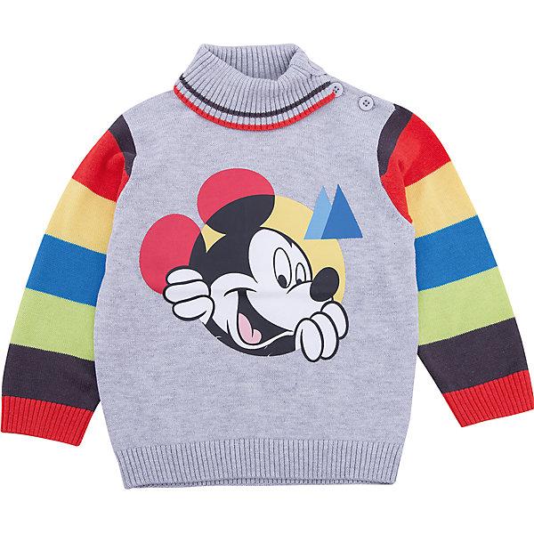 Джемпер PlayToday для мальчикаТолстовки, свитера, кардиганы<br>Характеристики товара:<br><br>• цвет: серый<br>• состав ткани: 60% вискоза, 40% хлопок<br>• сезон: демисезон<br>• застежка: нет<br>• длинные рукава<br>• страна бренда: Германия<br>• страна изготовитель: Китай<br><br>Детская одежда и обувь от PlayToday - это стильные вещи по доступным ценам. Такой джемпер для мальчика - удобная и модная вещь. Детский джемпер декорирован оригинальным принтом. Теплый джемпер для детей сделан из дышащего трикотажа. <br><br>Джемпер PlayToday (ПлэйТудэй) для мальчика можно купить в нашем интернет-магазине.<br>Ширина мм: 190; Глубина мм: 74; Высота мм: 229; Вес г: 236; Цвет: белый; Возраст от месяцев: 6; Возраст до месяцев: 9; Пол: Мужской; Возраст: Детский; Размер: 74,92,86,80; SKU: 7107713;