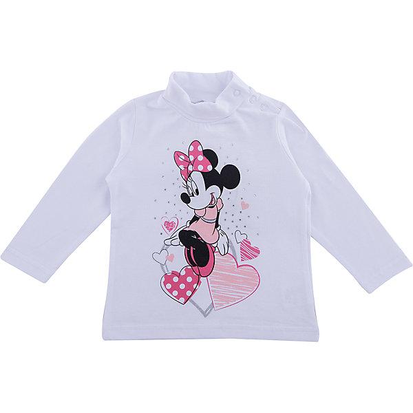 Водолазка PlayToday для девочкиТолстовки, свитера, кардиганы<br>Характеристики товара:<br><br>• цвет: белый<br>• состав ткани: 95% хлопок, 5% эластан<br>• сезон: демисезон<br>• застежка: кнопки<br>• длинные рукава<br>• страна бренда: Германия<br>• страна изготовитель: Китай<br><br>Детская одежда и обувь от европейского бренда PlayToday - выбор многих родителей. Симпатичная водолазка для девочки снабжена удобными кнопками. Детская водолазка декорирована оригинальным принтом. Водолазка для детей дополнена высоким воротом. <br><br>Водолазку PlayToday (ПлэйТудэй) для девочки можно купить в нашем интернет-магазине.<br>Ширина мм: 230; Глубина мм: 40; Высота мм: 220; Вес г: 250; Цвет: белый; Возраст от месяцев: 6; Возраст до месяцев: 9; Пол: Женский; Возраст: Детский; Размер: 74,92,86,80; SKU: 7107816;