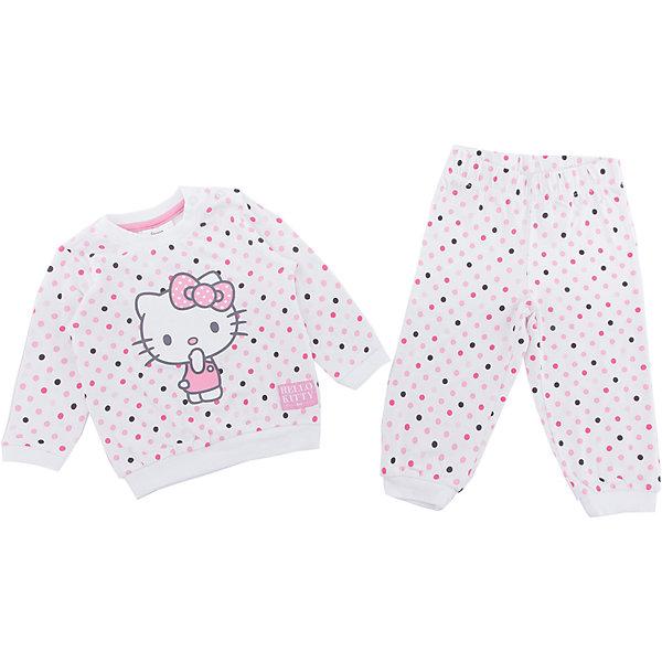 Пижама PlayToday для девочкиПижамы и сорочки<br>Характеристики товара:<br><br>• цвет: розовый<br>• комплектация: лонгслив и брюки<br>• состав ткани: 95% хлопок, 5% эластан<br>• сезон: демисезон<br>• застежка: кнопки<br>• длинные рукава<br>• пояс: резинка<br>• страна бренда: Германия<br>• страна изготовитель: Китай<br><br>Хлопковая пижама для девочки снабжена удобными кнопками. Детская пижама декорирована оригинальным принтом. Пижама для детей дополнена манжетами. Детская одежда и обувь от европейского бренда PlayToday - выбор многих родителей. <br><br>Пижаму PlayToday (ПлэйТудэй) для девочки можно купить в нашем интернет-магазине.<br>Ширина мм: 281; Глубина мм: 70; Высота мм: 188; Вес г: 295; Цвет: белый; Возраст от месяцев: 6; Возраст до месяцев: 9; Пол: Женский; Возраст: Детский; Размер: 74,92,86,80; SKU: 7107851;