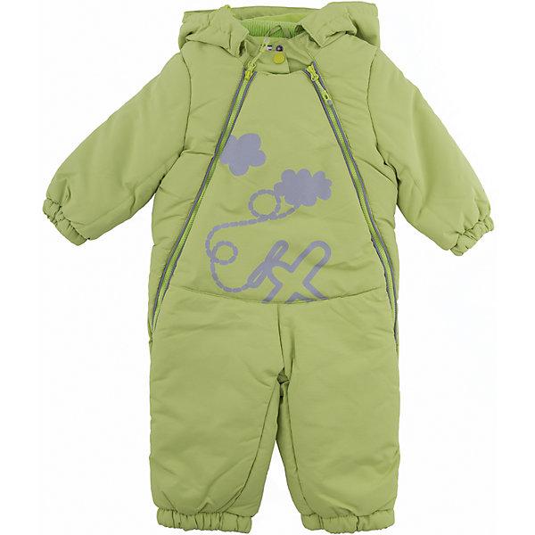 Комбинезон PlayToday для мальчикаВерхняя одежда<br>Характеристики товара:<br><br>• цвет: зеленый<br>• состав ткани: 100% полиэстер<br>• подкладка: 60% хлопок, 40% полиэстер<br>• утеплитель: 100% полиэстер<br>• сезон: зима<br>• температурный режим: от -20 до +5<br>• плотность утеплителя: 250 г/м2<br>• особенности модели: с капюшоном<br>• застежка: молния<br>• капюшон: без меха, несъемный<br>• длинные рукава<br>• страна бренда: Германия<br>• страна изготовитель: Китай<br><br>Комбинезон для мальчика снабжен удобными молниями. Детский комбинезон имеет удобный капюшон. Комбинезон для детей сделан из легких качественных материалов. Детская одежда и обувь от европейского бренда PlayToday - выбор многих родителей. <br><br>Комбинезон PlayToday (ПлэйТудэй) для мальчика можно купить в нашем интернет-магазине.<br>Ширина мм: 157; Глубина мм: 13; Высота мм: 119; Вес г: 200; Цвет: зеленый; Возраст от месяцев: 6; Возраст до месяцев: 9; Пол: Мужской; Возраст: Детский; Размер: 74,92,86,80; SKU: 7109675;