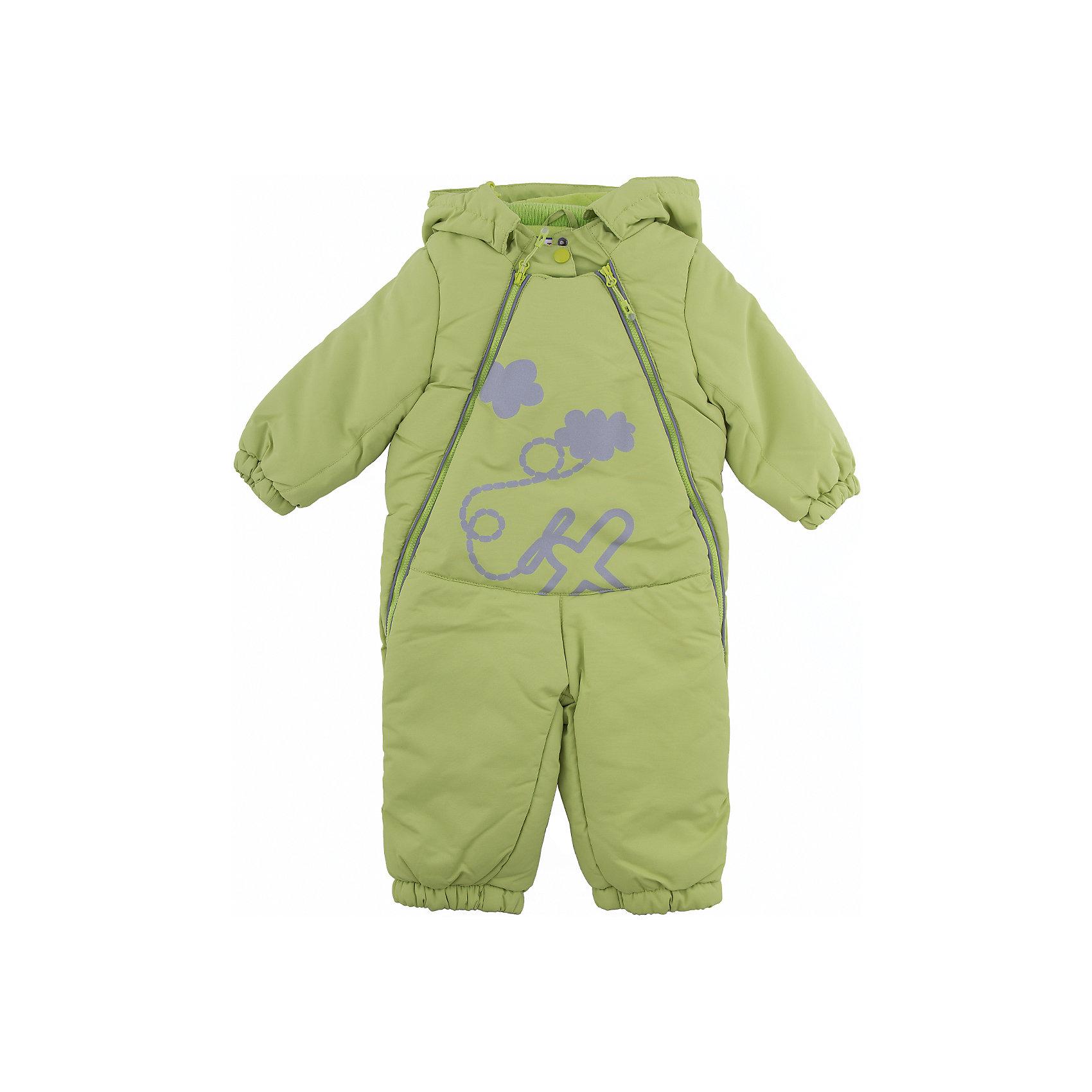 Комбинезон PlayToday для мальчикаВерхняя одежда<br>Комбинезон PlayToday для мальчика<br>Яркий утепленный комбинезон - отличное решение для холодной промозглой погоды. Асимметричное расположение молний позволит быстро снимать и одевать данное изделие. Модель декорирована принтом из светоотражающей краски - ребенок будет виден в темное время суток. Низ штанин дополнен регулируемыми штрипками, которые при необходимости можно отстегнуть. Комбинезон с вшивным капюшоном, застегивается на липучку. Воротник-стойка с внутренней стороны и манжеты отделаны мягкой трикотажной резинкой для дополнительного сохранения тепла. Хлопковая подкладка комбинезона не статична и хорошо впитывает лишнюю влагу.<br>Состав:<br>Верх: 100% полиэстер, подкладка: 60% хлопок, 40% полиэстер, наполнитель: 100% полиэстер, 250 г/м2<br><br>Ширина мм: 157<br>Глубина мм: 13<br>Высота мм: 119<br>Вес г: 200<br>Цвет: зеленый<br>Возраст от месяцев: 18<br>Возраст до месяцев: 24<br>Пол: Мужской<br>Возраст: Детский<br>Размер: 92,74,80,86<br>SKU: 7109675