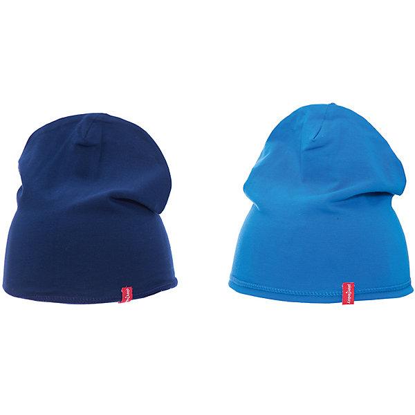 Шапка PlayToday для мальчикаШапочки<br>Характеристики товара:<br><br>• цвет: синий<br>• состав ткани: 92% хлопок, 8% эластан<br>• сезон: демисезон<br>• застежка: нет<br>• страна бренда: Германия<br>• страна изготовитель: Китай<br><br>Шапка для мальчика выполнена в практичном универсальном цвете. Детская шапка комфортно сидит на голове благодаря мягкому материалу. Шапка для детей - на завязках. Детская одежда и обувь от PlayToday - это стильные вещи по доступным ценам. <br><br>Шапку PlayToday (ПлэйТудэй) для мальчика можно купить в нашем интернет-магазине.<br>Ширина мм: 89; Глубина мм: 117; Высота мм: 44; Вес г: 155; Цвет: белый; Возраст от месяцев: 6; Возраст до месяцев: 9; Пол: Мужской; Возраст: Детский; Размер: 46,48; SKU: 7109839;