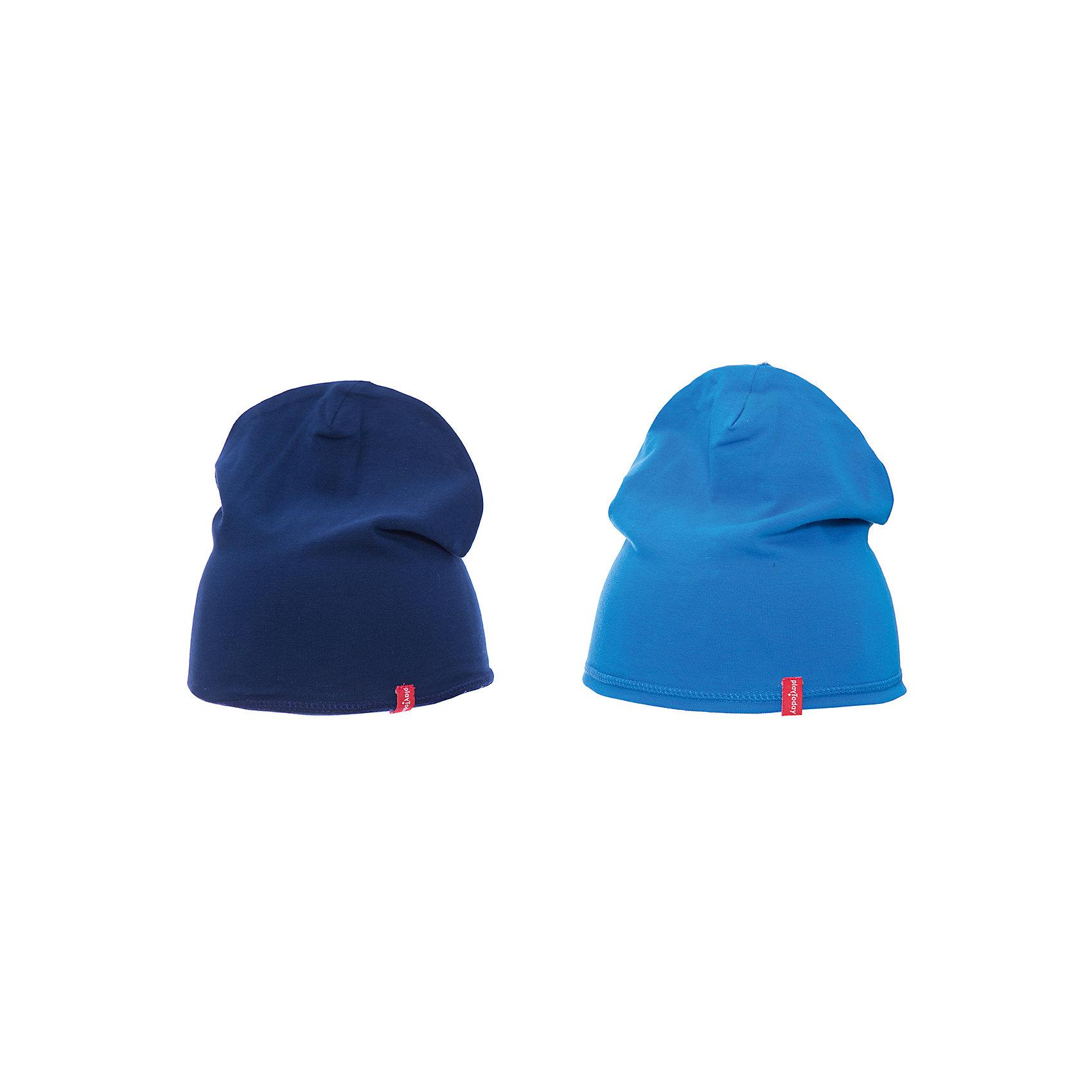 Шапка PlayToday для мальчикаШапочки<br>Шапка PlayToday для мальчика<br>Шапки из трикотажа - отличное решение для прогулок в прохладную погоду. Модели без завязок, плотно прилегают к голове, комфортны при носке.<br>Состав:<br>92% хлопок, 8% эластан<br><br>Ширина мм: 89<br>Глубина мм: 117<br>Высота мм: 44<br>Вес г: 155<br>Цвет: белый<br>Возраст от месяцев: 12<br>Возраст до месяцев: 18<br>Пол: Мужской<br>Возраст: Детский<br>Размер: 48,46<br>SKU: 7109839