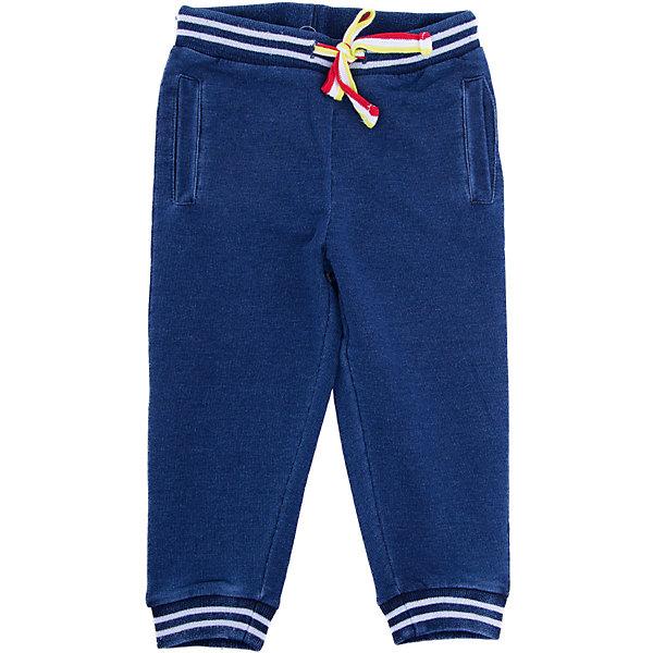 Брюки PlayToday для мальчикаБрюки<br>Характеристики товара:<br><br>• цвет: синий<br>• состав ткани: 80% хлопок, 20% полиэстер<br>• сезон: демисезон<br>• особенности модели: спортивный стиль<br>• пояс: резинка, шнурок<br>• страна бренда: Германия<br>• страна изготовитель: Китай<br><br>Синие брюки для мальчика легко надеваются благодаря резинке в поясе. Детские брюки дополнены вшивными карманами. Брюки для детей сделан из дышащих качественных материалов. Детская одежда и обувь от европейского бренда PlayToday - выбор многих родителей. <br><br>Брюки PlayToday (ПлэйТудэй) для мальчика можно купить в нашем интернет-магазине.<br>Ширина мм: 215; Глубина мм: 88; Высота мм: 191; Вес г: 336; Цвет: синий; Возраст от месяцев: 6; Возраст до месяцев: 9; Пол: Мужской; Возраст: Детский; Размер: 74,92,86,80; SKU: 7109904;