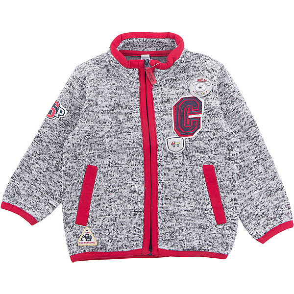 Куртка PlayToday для мальчикаВерхняя одежда<br>Характеристики товара:<br><br>• цвет: серый<br>• состав ткани: 100% полиэстер<br>• сезон: демисезон<br>• застежка: молния<br>• длинные рукава<br>• страна бренда: Германия<br>• страна изготовитель: Китай<br><br>Флисовая толстовка для мальчика снабжена мягкими манжетами. Детская толстовка декорирована оригинальной аппликацией. Толстовка для детей дополнена карманами. Детская одежда и обувь от европейского бренда PlayToday - выбор многих родителей. <br><br>Толстовку PlayToday (ПлэйТудэй) для мальчика можно купить в нашем интернет-магазине.<br><br>Ширина мм: 356<br>Глубина мм: 10<br>Высота мм: 245<br>Вес г: 519<br>Цвет: белый<br>Возраст от месяцев: 18<br>Возраст до месяцев: 24<br>Пол: Мужской<br>Возраст: Детский<br>Размер: 92,74,80,86<br>SKU: 7109909