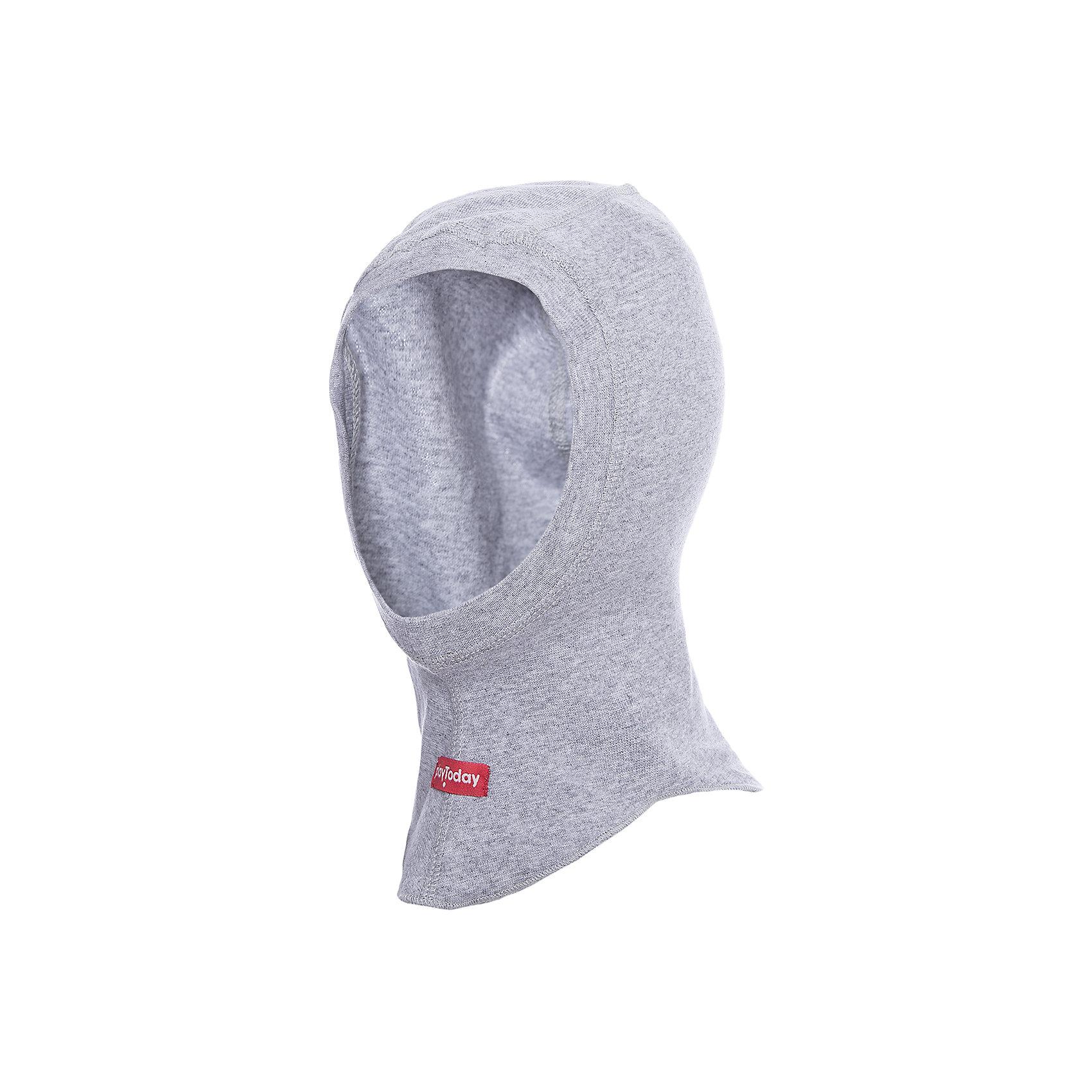 Шапка-шлем PlayToday для мальчикаШапочки<br>Шапка-шлем PlayToday для мальчика<br>Шапка - подшлемник из натурального хлопка защитит Вашего ребенка во время прогулок в прохладную погоду. Плотно прилегает к голове, комфортна при носке. Аккуратные швы не вызывают раздражений и неприятных ощущений.<br>Состав:<br>95% хлопок, 5% эластан<br><br>Ширина мм: 89<br>Глубина мм: 117<br>Высота мм: 44<br>Вес г: 155<br>Цвет: серый<br>Возраст от месяцев: 6<br>Возраст до месяцев: 9<br>Пол: Мужской<br>Возраст: Детский<br>Размер: 46,48<br>SKU: 7109995