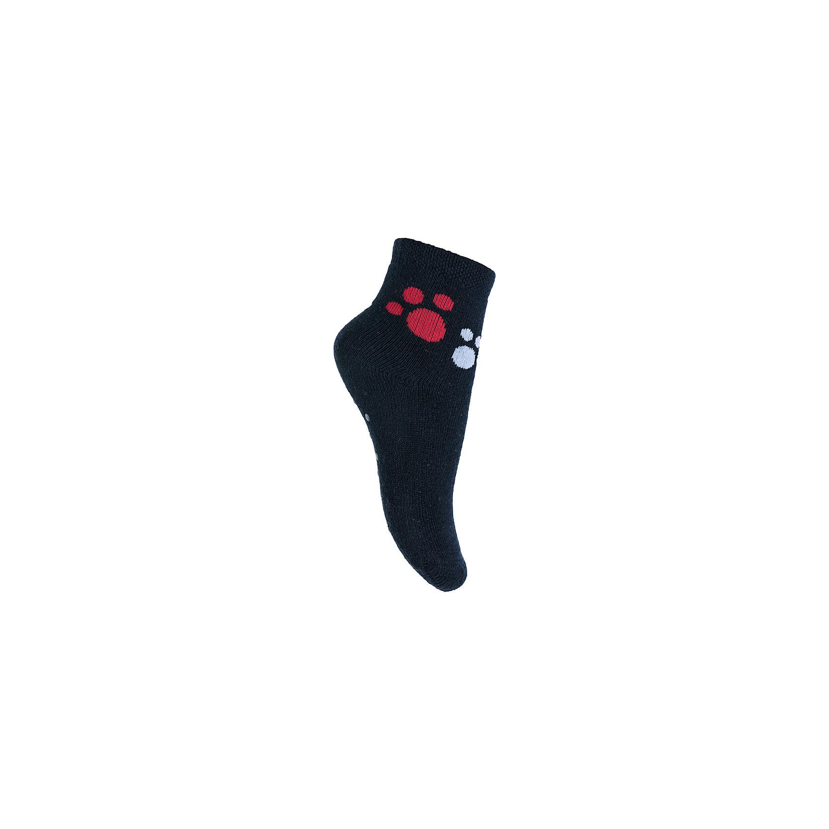 Носки PlayToday для мальчикаНосочки и колготки<br>Носки PlayToday для мальчика<br>Махровые носки очень мягкие, из  натуральных материалов, приятные к телу и не сковывают движений. Хорошо пропускают воздух, тем самым позволяя коже дышать. Даже частые стирки, при условии соблюдений рекомендаций по уходу, не изменят ни форму, ни цвет изделия. Модель декорирована оригинальным жаккардовым рисунком.  Мягкая резинка не сдавливает нежную детскую кожу. Подошва дополнена силиконовыми наклейками, которые не позволят ребенку упасть даже на скользкой поверхности.<br>Состав:<br>80% хлопок, 15% нейлон, 5% эластан<br><br>Ширина мм: 87<br>Глубина мм: 10<br>Высота мм: 105<br>Вес г: 115<br>Цвет: черный<br>Возраст от месяцев: 18<br>Возраст до месяцев: 24<br>Пол: Мужской<br>Возраст: Детский<br>Размер: 12,11<br>SKU: 7110010