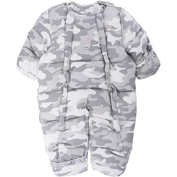 Комбинезон PlayToday для мальчикаВерхняя одежда<br>Характеристики товара:<br><br>• цвет: серый<br>• состав ткани: 100% полиэстер<br>• подкладка: 60% хлопок, 40% полиэстер<br>• утеплитель: 100% полиэстер<br>• сезон: зима<br>• температурный режим: от -20 до +5<br>• плотность утеплителя: 250 г/м2<br>• особенности модели: с капюшоном<br>• застежка: молния<br>• капюшон: без меха, несъемный<br>• длинные рукава<br>• страна бренда: Германия<br>• страна изготовитель: Китай<br><br>Комбинезон для мальчика снабжен удобными молниями. Детский комбинезон имеет удобный капюшон. Комбинезон для детей сделан из легких качественных материалов. Детская одежда и обувь от европейского бренда PlayToday - выбор многих родителей. <br><br>Комбинезон PlayToday (ПлэйТудэй) для мальчика можно купить в нашем интернет-магазине.<br><br>Ширина мм: 157<br>Глубина мм: 13<br>Высота мм: 119<br>Вес г: 200<br>Цвет: белый<br>Возраст от месяцев: 0<br>Возраст до месяцев: 3<br>Пол: Мужской<br>Возраст: Детский<br>Размер: 56,68<br>SKU: 7110016