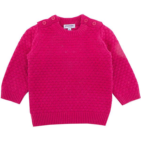 Джемпер PlayToday для девочкиТолстовки, свитера, кардиганы<br>Характеристики товара:<br><br>• цвет: красный<br>• состав ткани: 70% нейлон, 25% вискоза, 5% шерсть<br>• сезон: демисезон<br>• застежка: пуговицы<br>• длинные рукава<br>• страна бренда: Германия<br>• страна изготовитель: Китай<br><br>Детская одежда и обувь от PlayToday - это стильные вещи по доступным ценам. Розовый джемпер для девочки - удобная и модная вещь. Детский джемпер снабжен удобными застежками. Теплый джемпер для детей сделан из дышащего материала. <br><br>Джемпер PlayToday (ПлэйТудэй) для девочки можно купить в нашем интернет-магазине.<br><br>Ширина мм: 190<br>Глубина мм: 74<br>Высота мм: 229<br>Вес г: 236<br>Цвет: красный<br>Возраст от месяцев: 6<br>Возраст до месяцев: 9<br>Пол: Женский<br>Возраст: Детский<br>Размер: 74,92,86,80<br>SKU: 7110131
