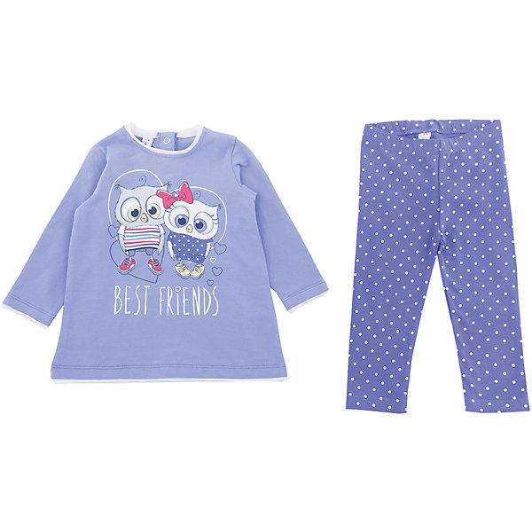Комплект: футболка и леггинсы PlayToday для девочки