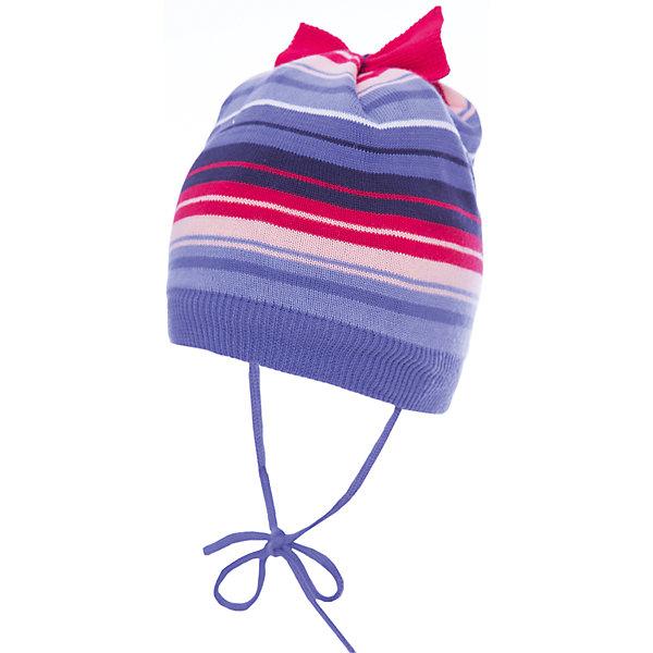 Шапка PlayToday для девочкиШапочки<br>Характеристики товара:<br><br>• цвет: сиреневый<br>• состав ткани: 80% хлопок 20% акрил<br>• сезон: демисезон<br>• застежка: завязки<br>• страна бренда: Германия<br>• страна изготовитель: Китай<br><br>Симпатичная шапка для детей с завязками плотно прилегает к голове. Детская шапка комфортно сидит на голове благодаря мягкому материалу. Шапка для девочки выполнена в красивой расцветке. Одежда и аксессуары для детей от PlayToday - это качественные и красивые вещи. <br><br>Шапку PlayToday (ПлэйТудэй) для девочки можно купить в нашем интернет-магазине.<br>Ширина мм: 89; Глубина мм: 117; Высота мм: 44; Вес г: 155; Цвет: белый; Возраст от месяцев: 6; Возраст до месяцев: 9; Пол: Женский; Возраст: Детский; Размер: 46,48; SKU: 7110241;
