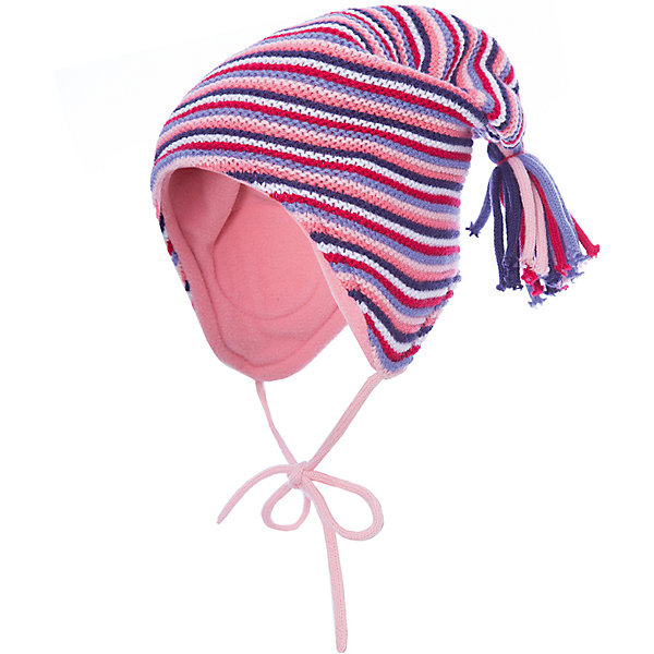 Шапка PlayToday для девочкиШапочки<br>Характеристики товара:<br><br>• цвет: розовый<br>• состав ткани: 100% акрил<br>• сезон: демисезон<br>• застежка: завязки<br>• страна бренда: Германия<br>• страна изготовитель: Китай<br><br>Одежда и аксессуары для детей от PlayToday - это качественные и красивые вещи. Симпатичная шапка для детей - с завязками, плотно прилегает к голове. Детская шапка комфортно сидит на голове благодаря мягкому материалу. Шапка для девочки выполнена в красивой расцветке. <br><br>Шапку PlayToday (ПлэйТудэй) для девочки можно купить в нашем интернет-магазине.<br><br>Ширина мм: 89<br>Глубина мм: 117<br>Высота мм: 44<br>Вес г: 155<br>Цвет: белый<br>Возраст от месяцев: 12<br>Возраст до месяцев: 18<br>Пол: Женский<br>Возраст: Детский<br>Размер: 48,46<br>SKU: 7110244