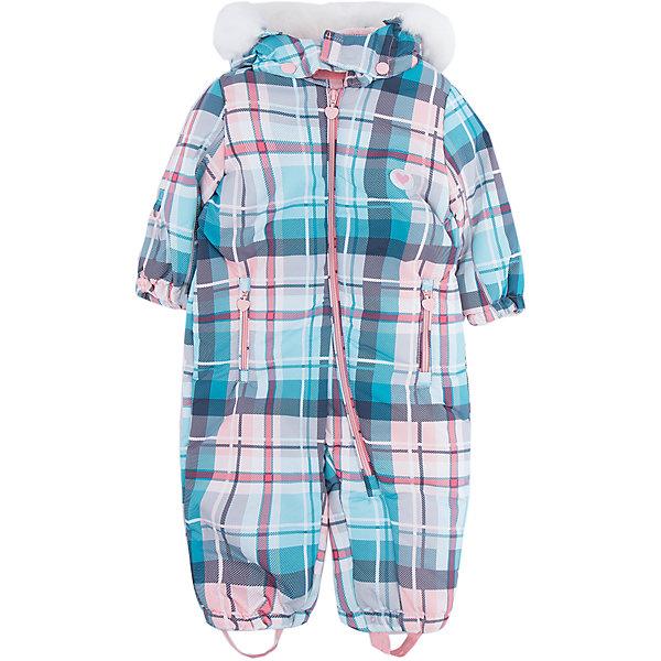 Комбинезон PlayToday для девочкиВерхняя одежда<br>Характеристики товара:<br><br>• цвет: голубой<br>• состав ткани: 100% полиэстер<br>• подкладка: 80% хлопок, 20% полиэстер<br>• утеплитель: 100% полиэстер<br>• сезон: зима<br>• температурный режим: от -20 до +5<br>• плотность утеплителя: 300 г/м2<br>• особенности модели: с капюшоном<br>• застежка: молния, кнопки<br>• капюшон: с мехом, съемный<br>• длинные рукава<br>• страна бренда: Германия<br>• страна изготовитель: Китай<br><br>Комбинезон для девочки снабжен удобными кнопками и молниями. Детский комбинезон имеет удобный капюшон. Комбинезон для детей сделан из легких качественных материалов. Детская одежда и обувь от европейского бренда PlayToday - выбор многих родителей. <br><br>Комбинезон PlayToday (ПлэйТудэй) для девочки можно купить в нашем интернет-магазине.<br>Ширина мм: 157; Глубина мм: 13; Высота мм: 119; Вес г: 200; Цвет: белый; Возраст от месяцев: 6; Возраст до месяцев: 9; Пол: Женский; Возраст: Детский; Размер: 74,92,80,86; SKU: 7110277;